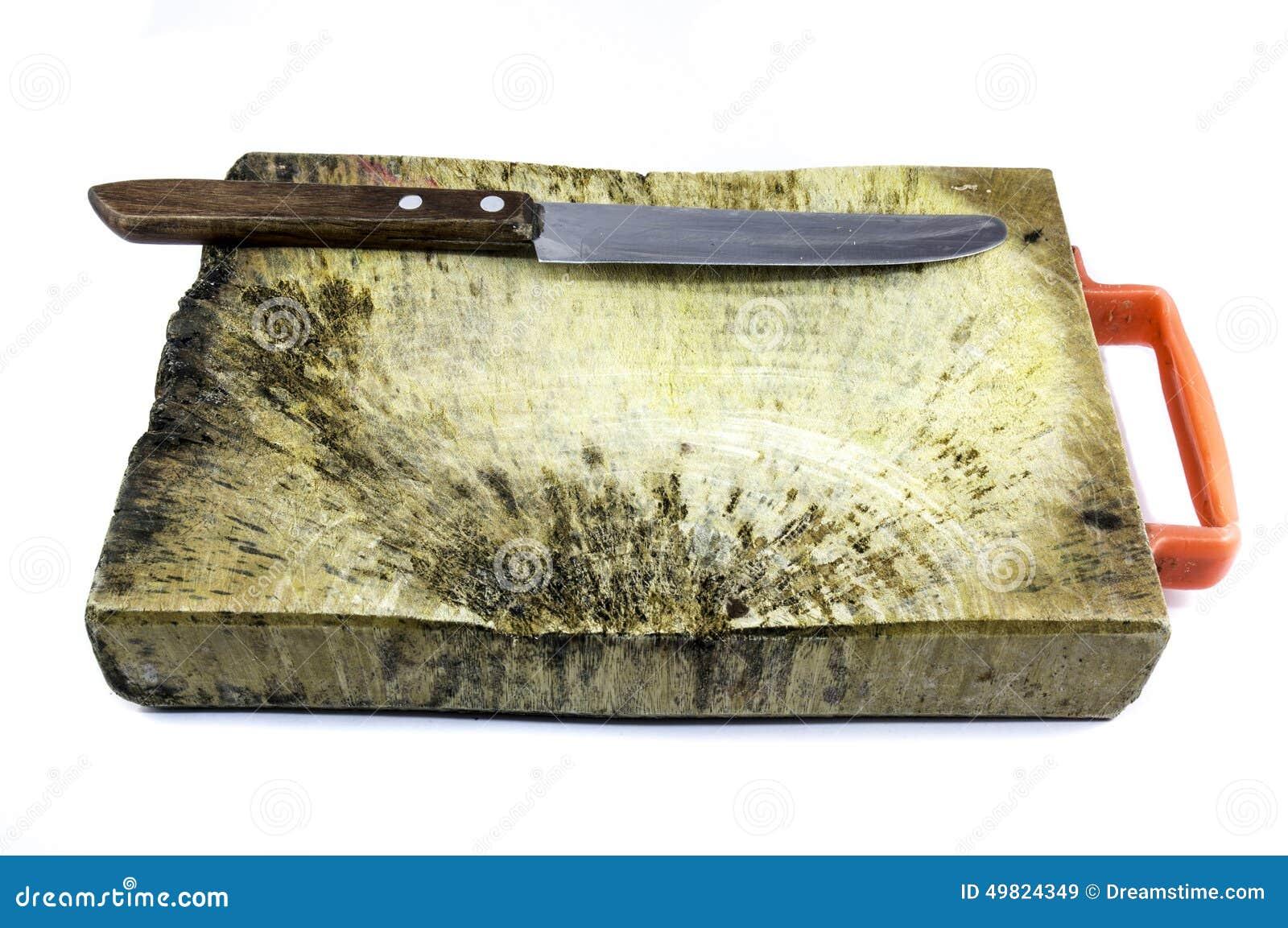 Деревянная плита (деревянный блок) для отрезанных ингридиента и ножа шелушения