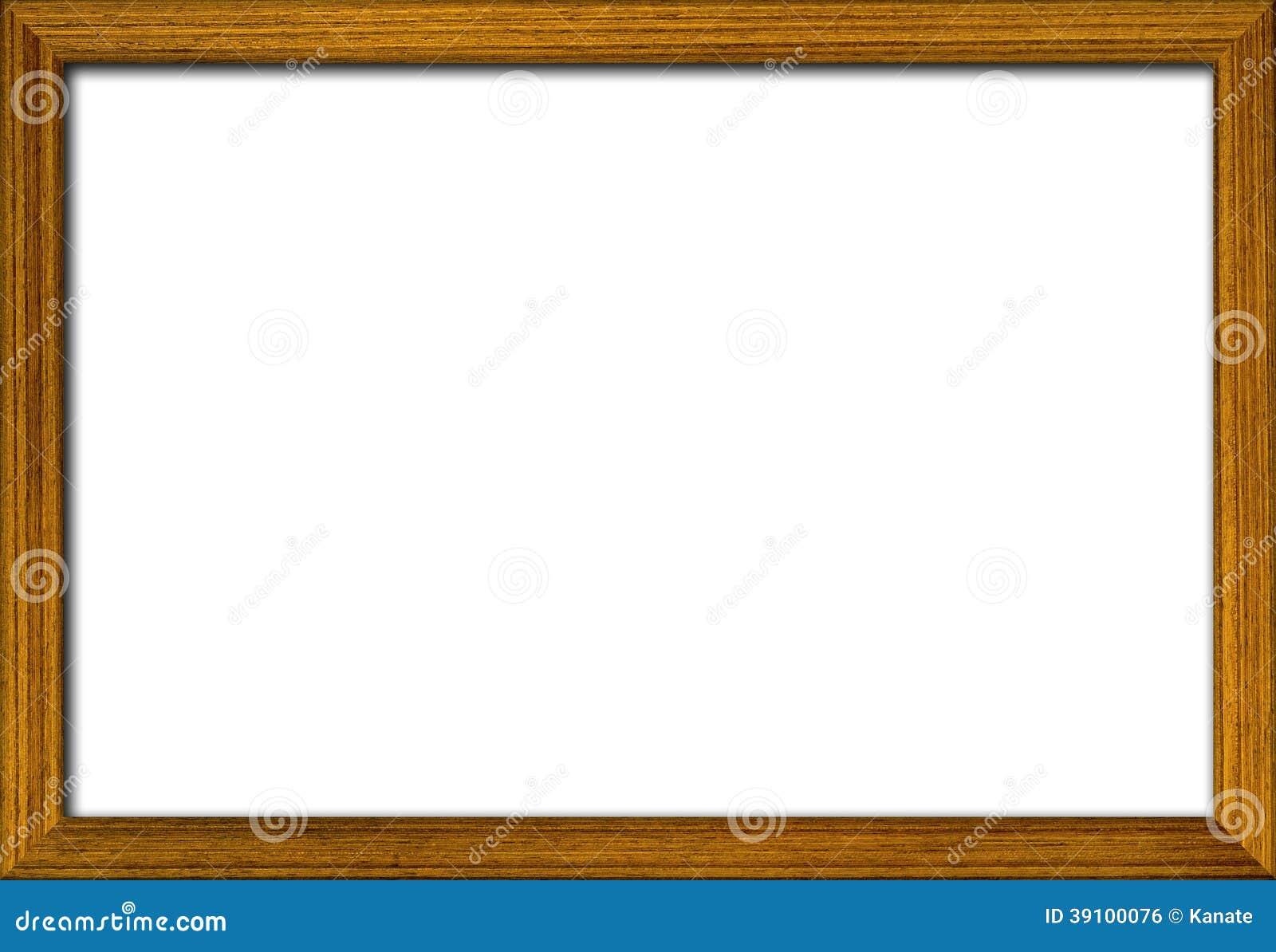 деревянная рамка фото стоковое фото изображение насчитывающей никто