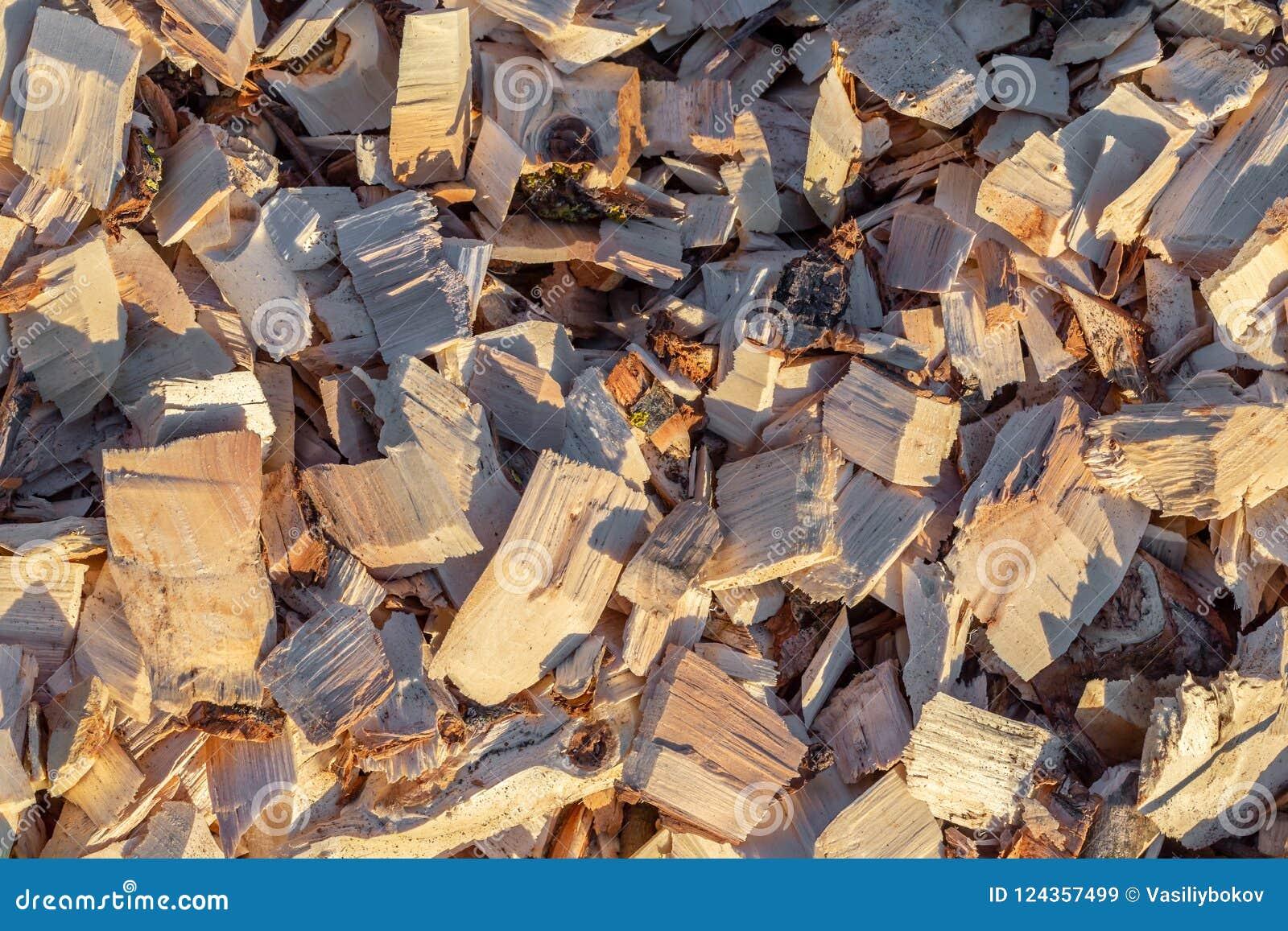 Деревянная щепка рециркулированная древесина дружественный к Эко обрабатывать
