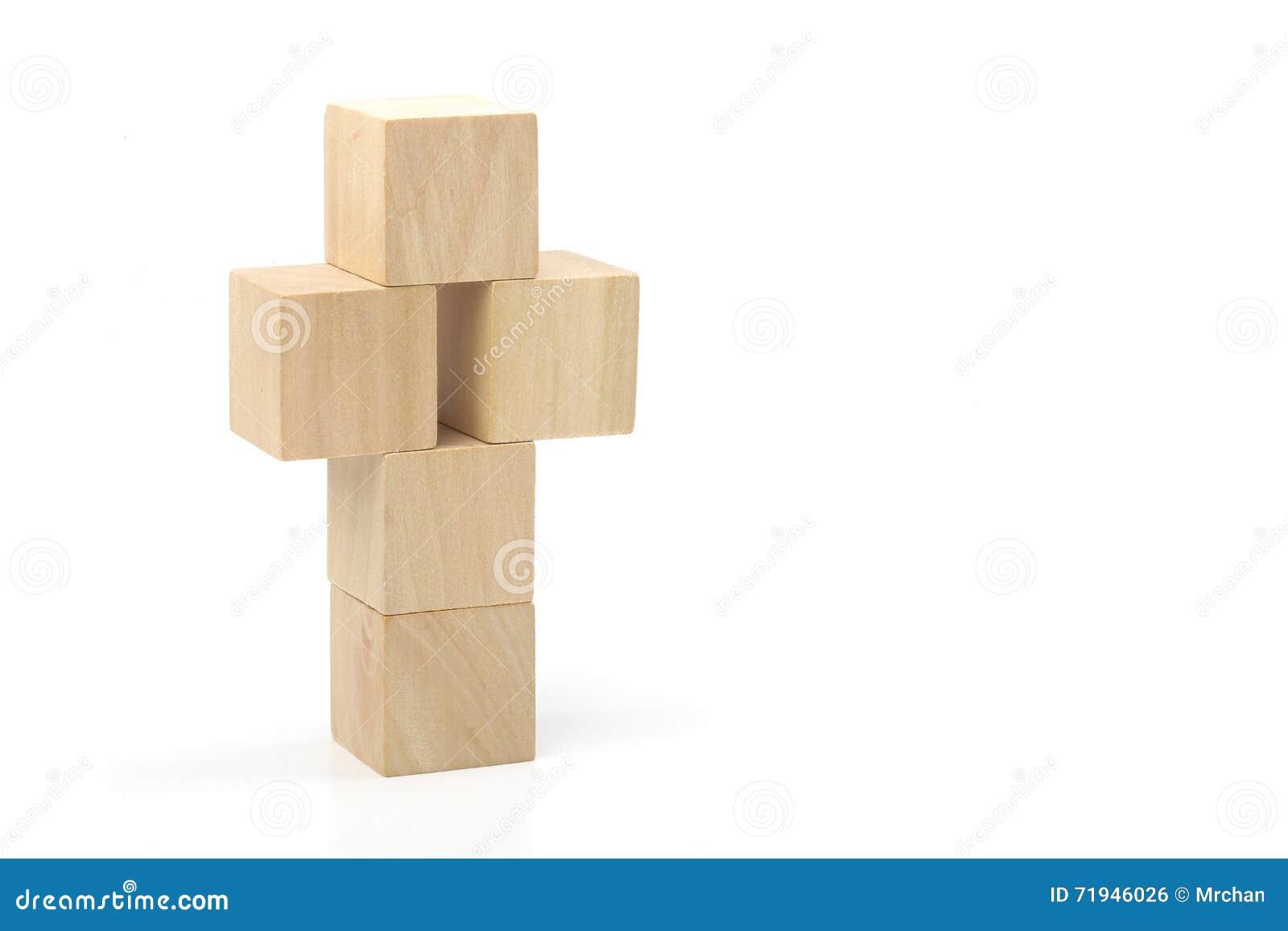 Деревянный крест на белой предпосылке