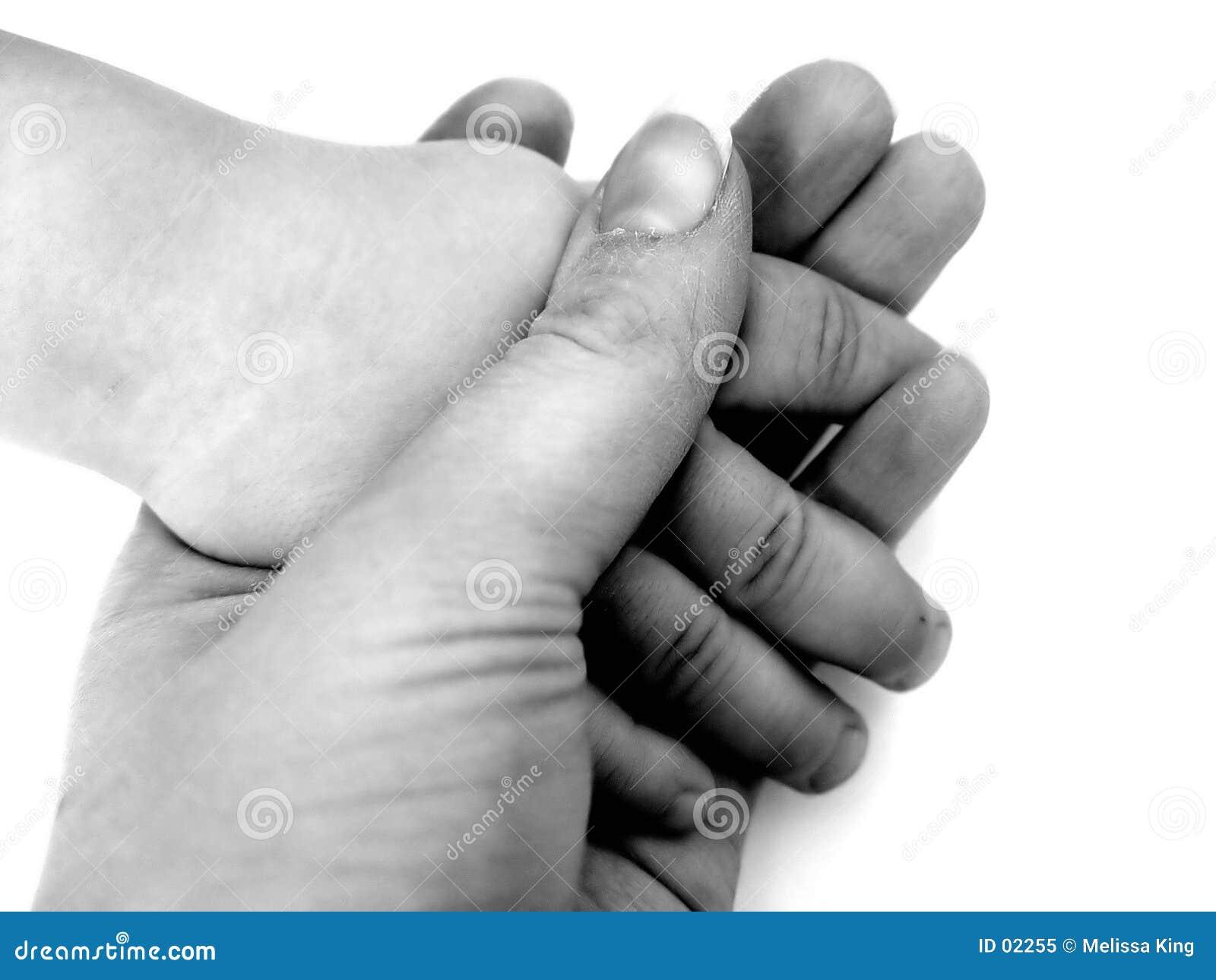 держать рук
