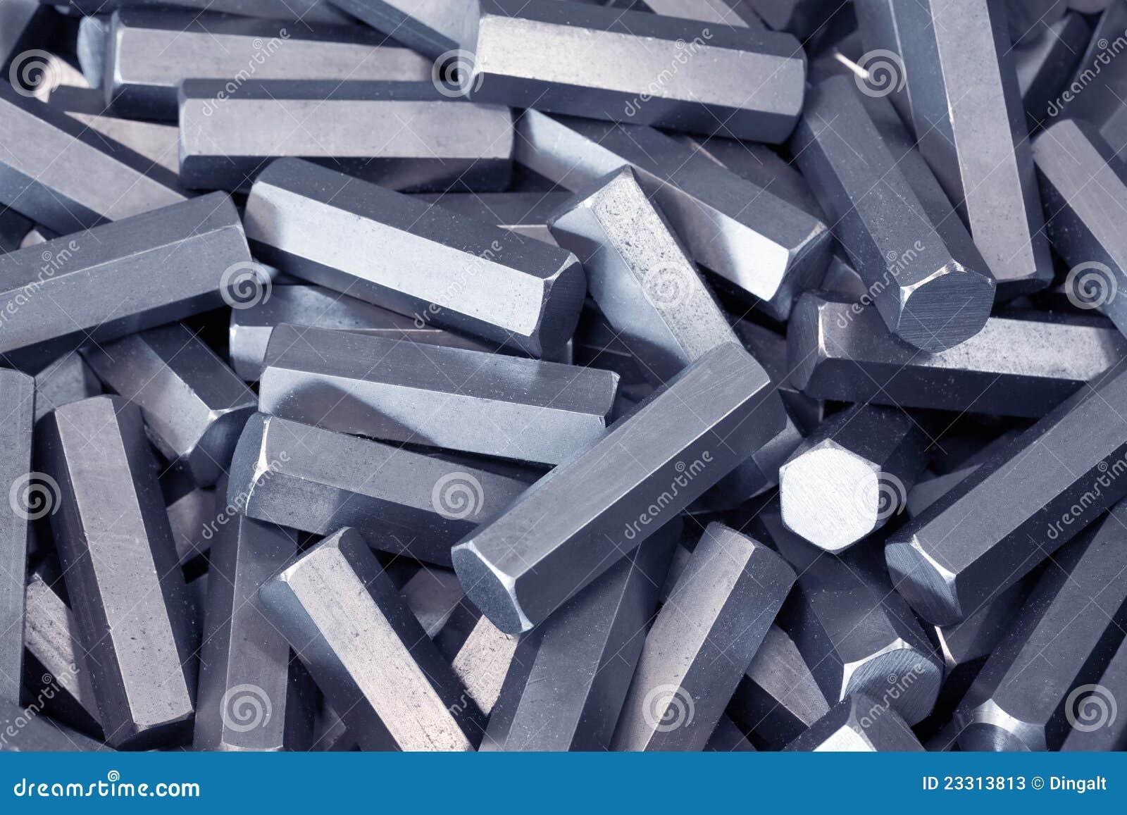 детализирует металл шестиугольника