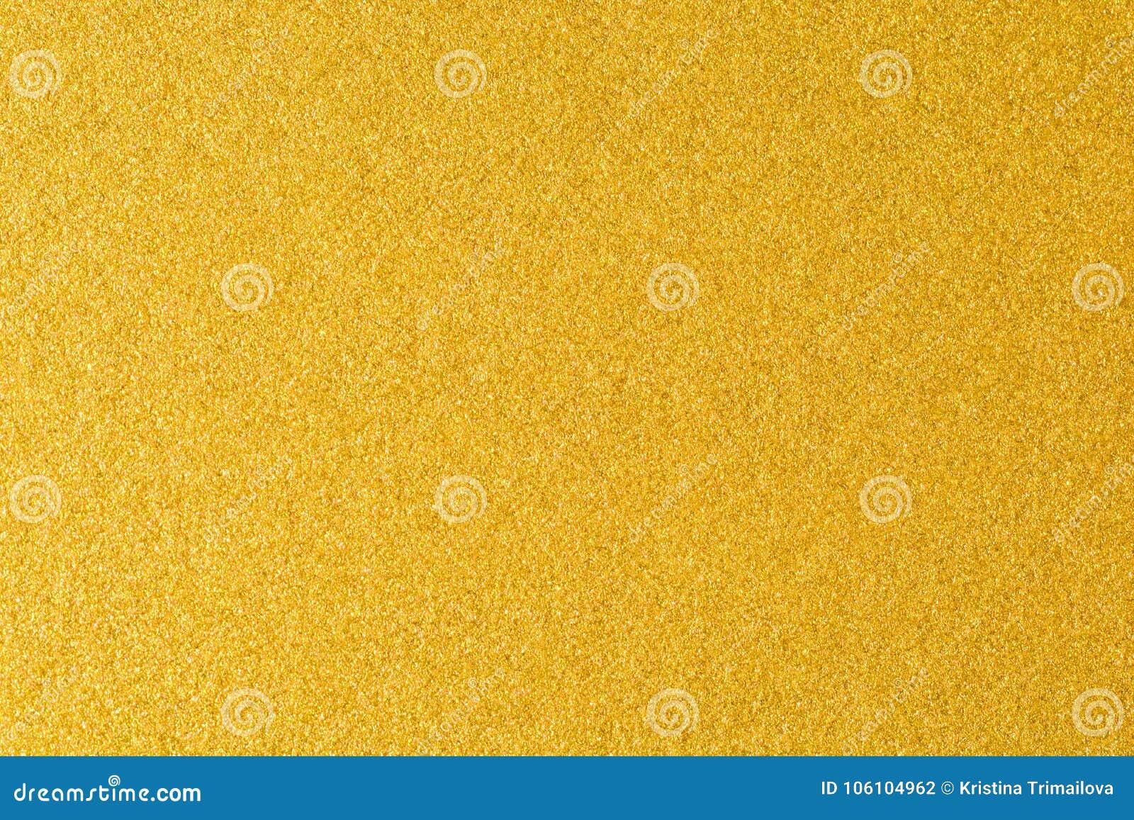 Детали золотой предпосылки текстуры Стена краски цвета золота Роскошные золотые предпосылка и обои Сусальное золото или