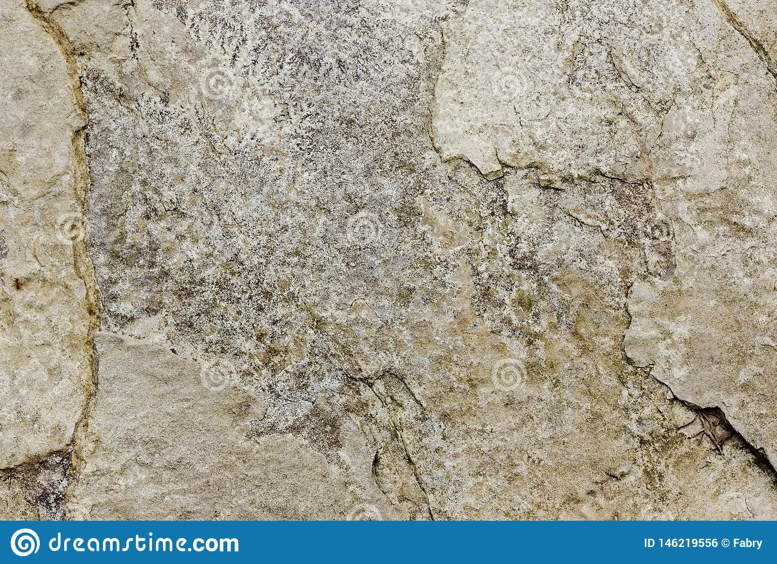 Деталь естественной каменной текстурированной поверхности