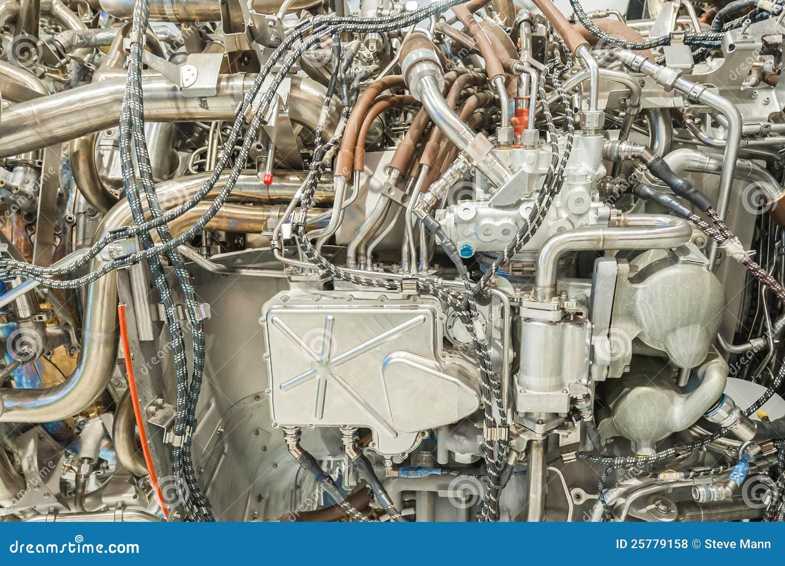 Деталь реактивного двигателя