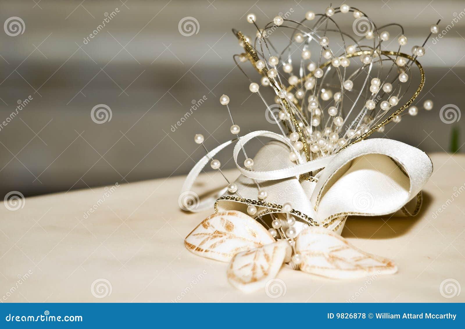 Деталь торта венчания