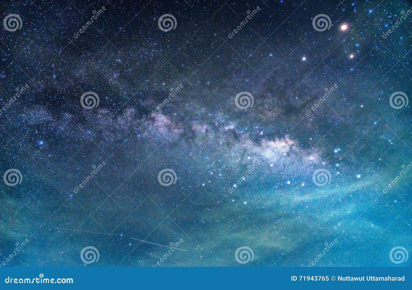 Деталь галактики млечного пути