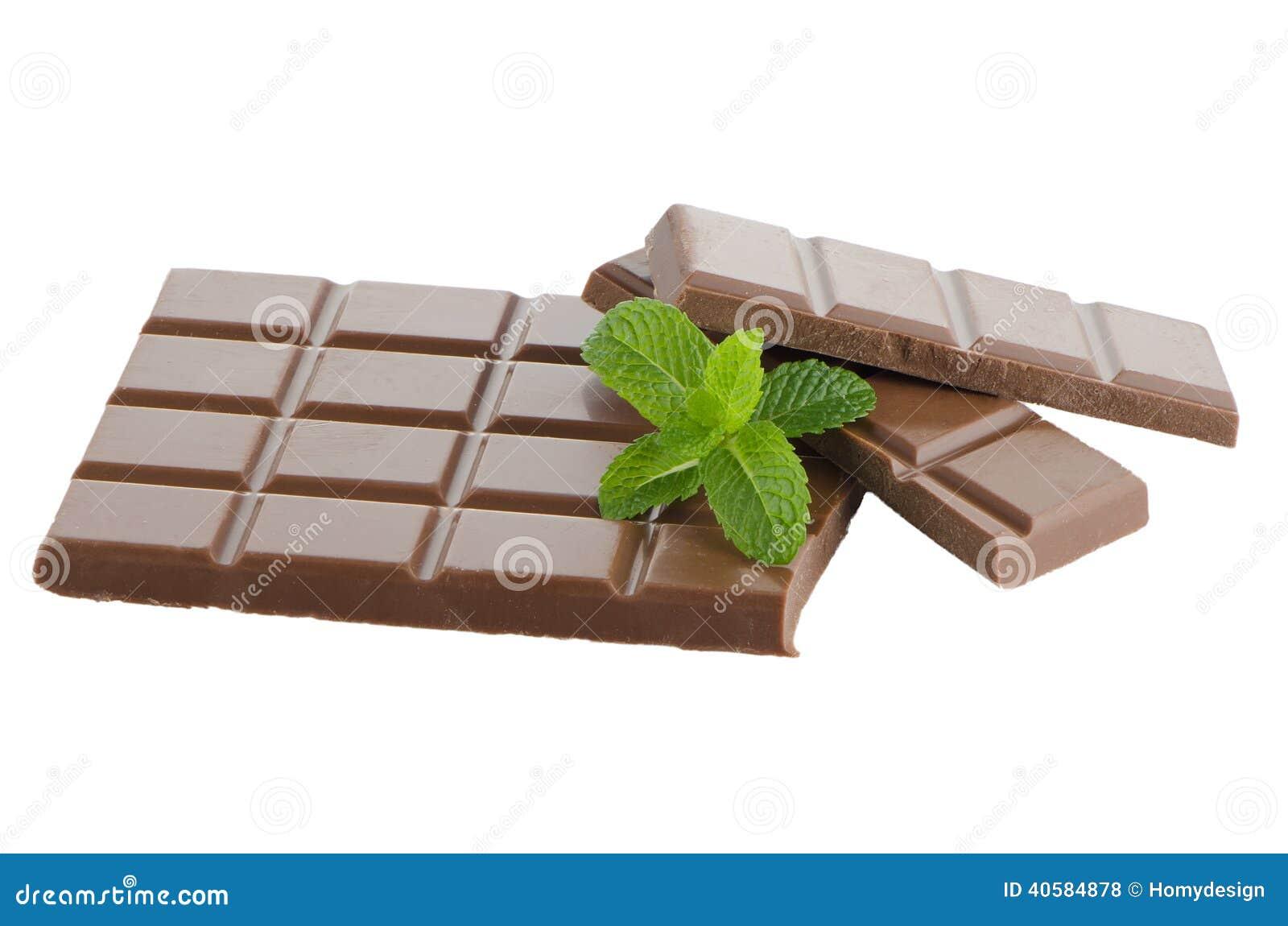Деталь крупного плана шоколада