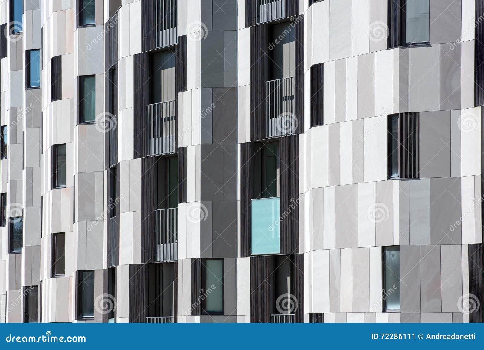 Download Деталь современного экстерьера квартиры Стоковое Изображение - изображение насчитывающей деталь, плитка: 72286111