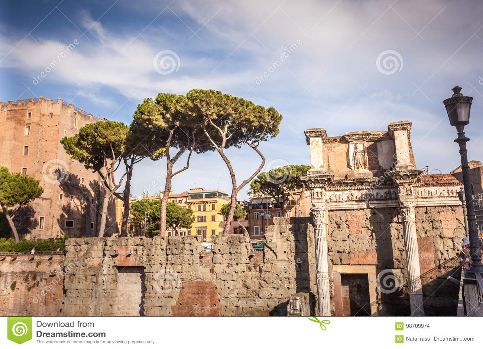 Деталь форума Augustus в Риме