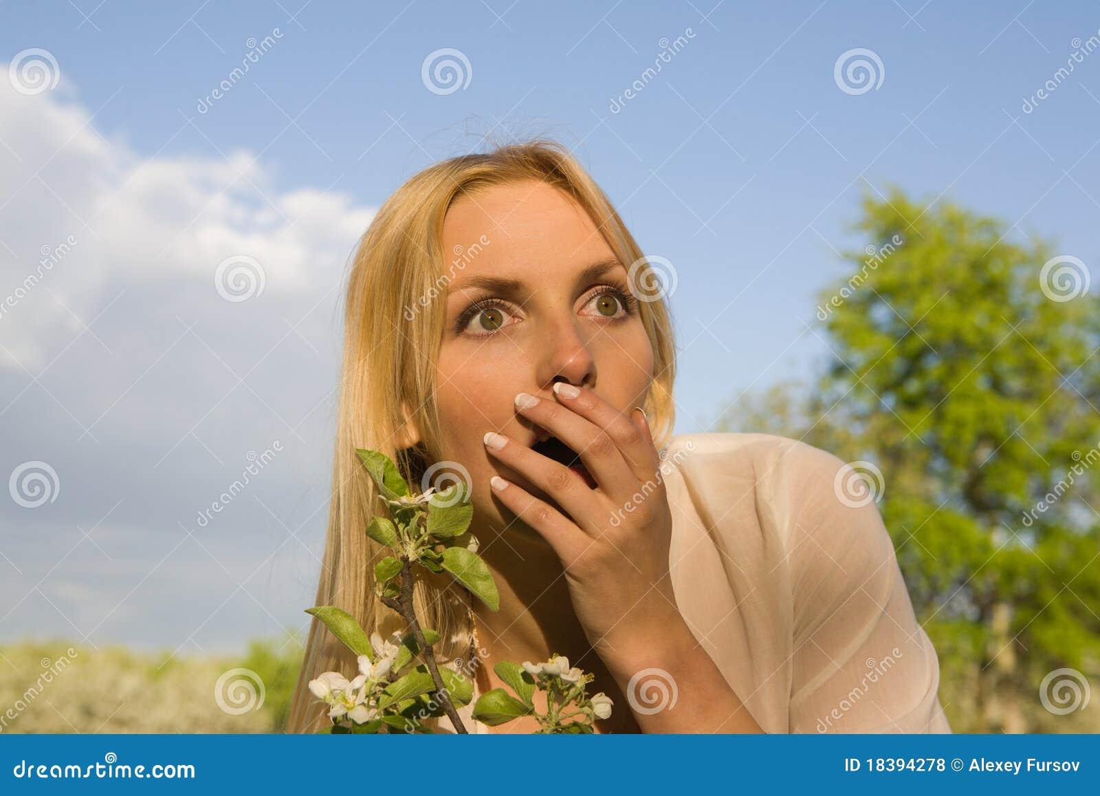 детеныши женщины весны парка