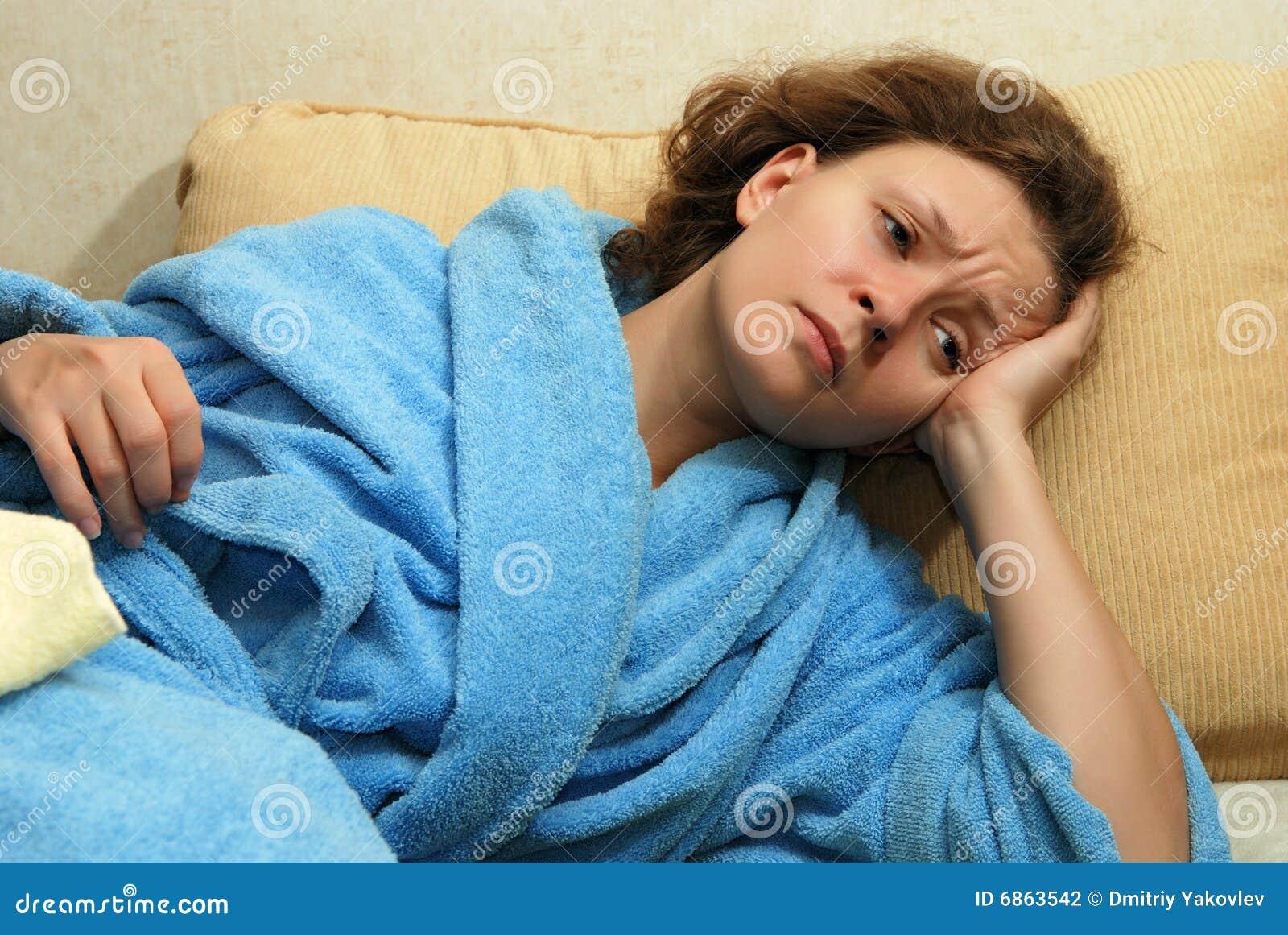 детеныши женщины головной боли