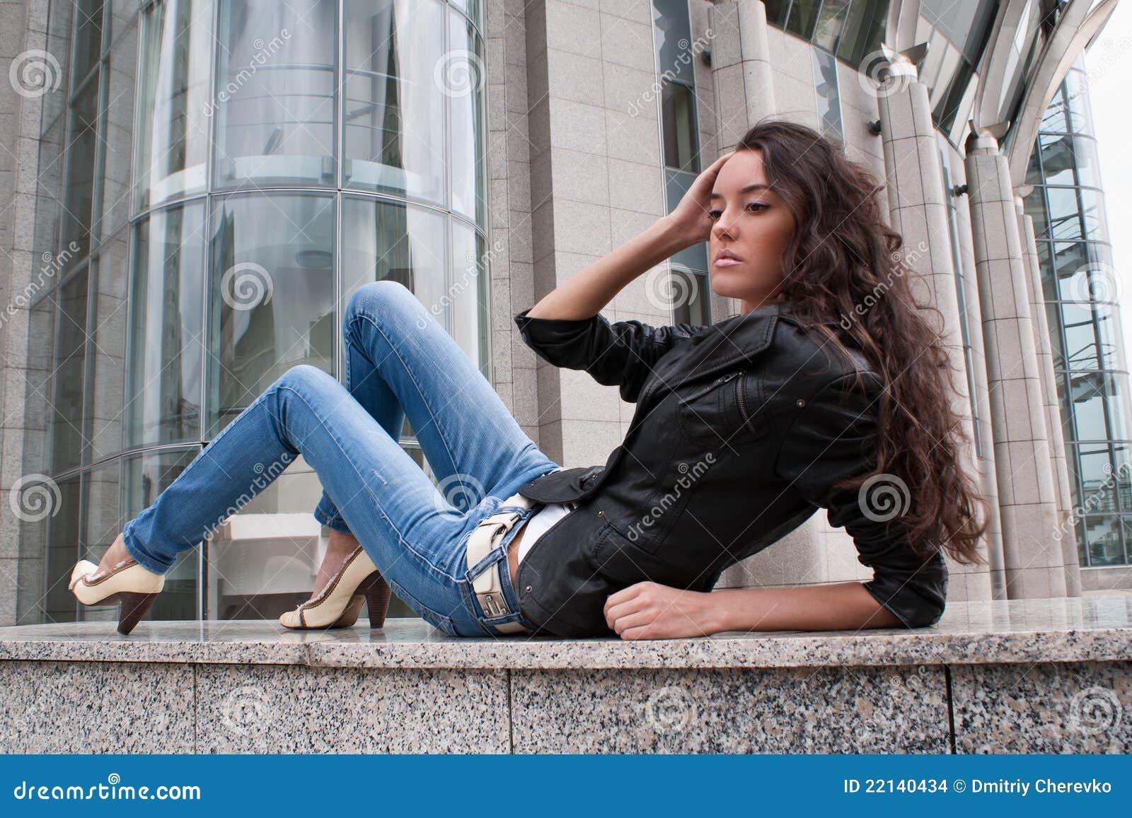 детеныши ландшафта девушки города