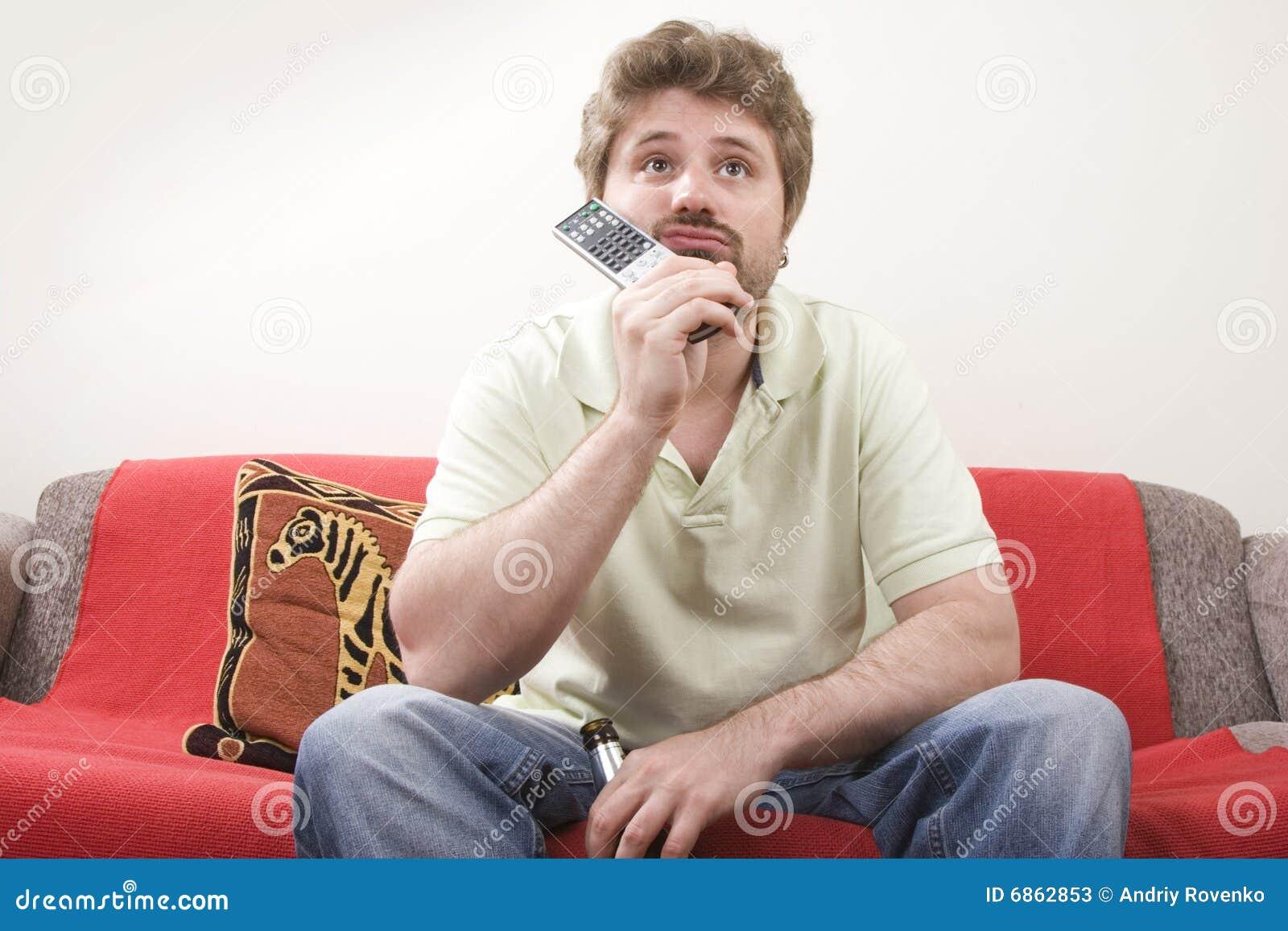 детеныши tv человека наблюдая