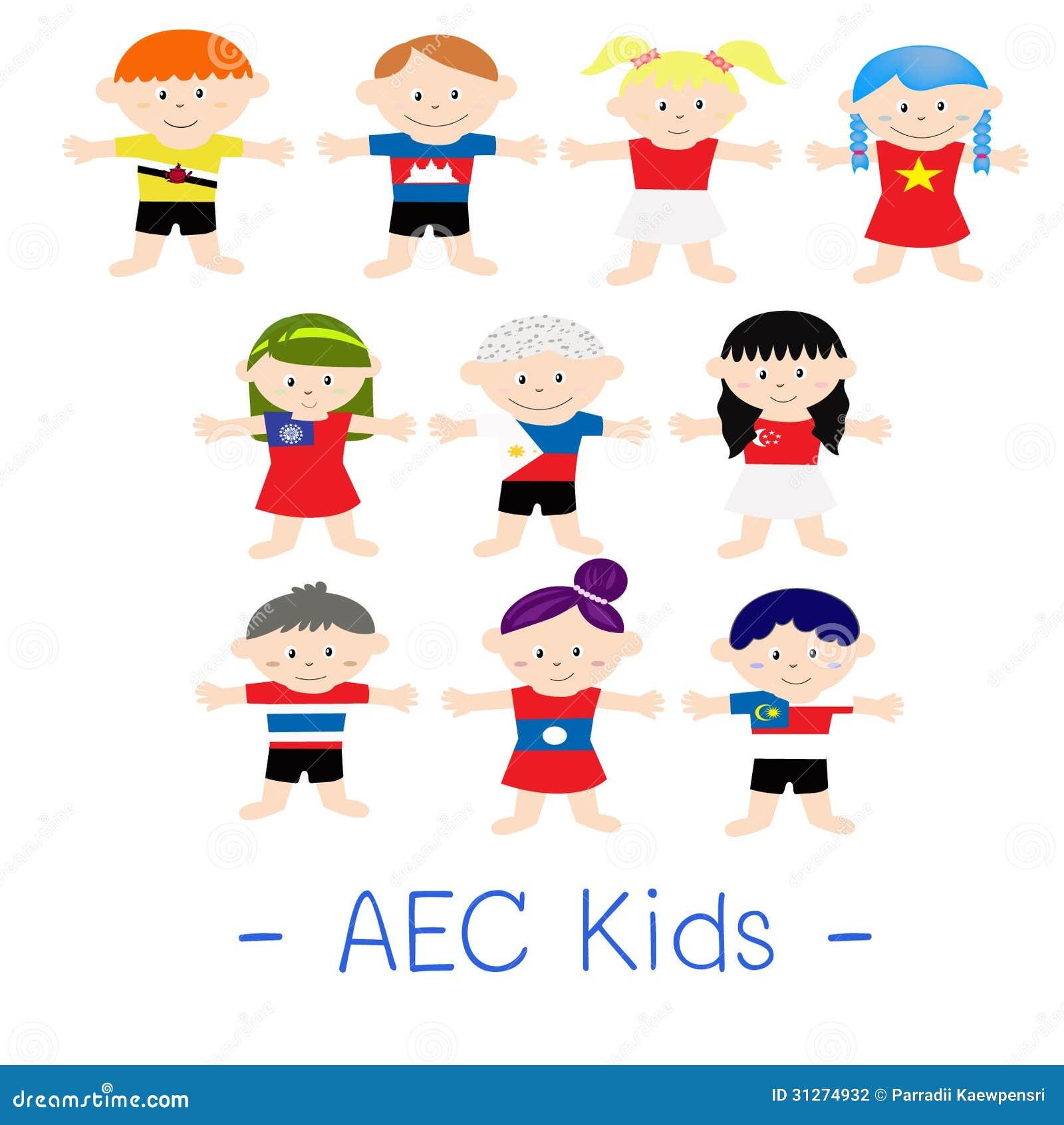 Дети азиата AEC