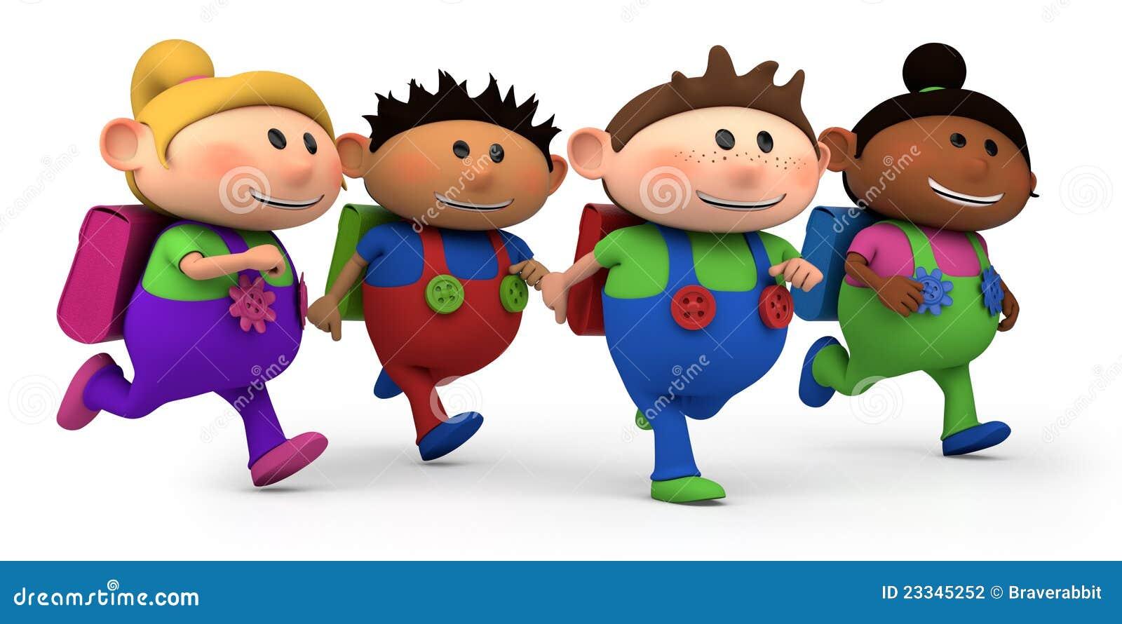 дети руководя школа