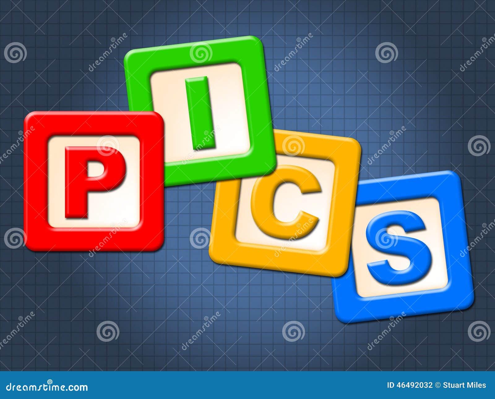 Дети Pics преграждают изображения и малолетку ребенка выставок