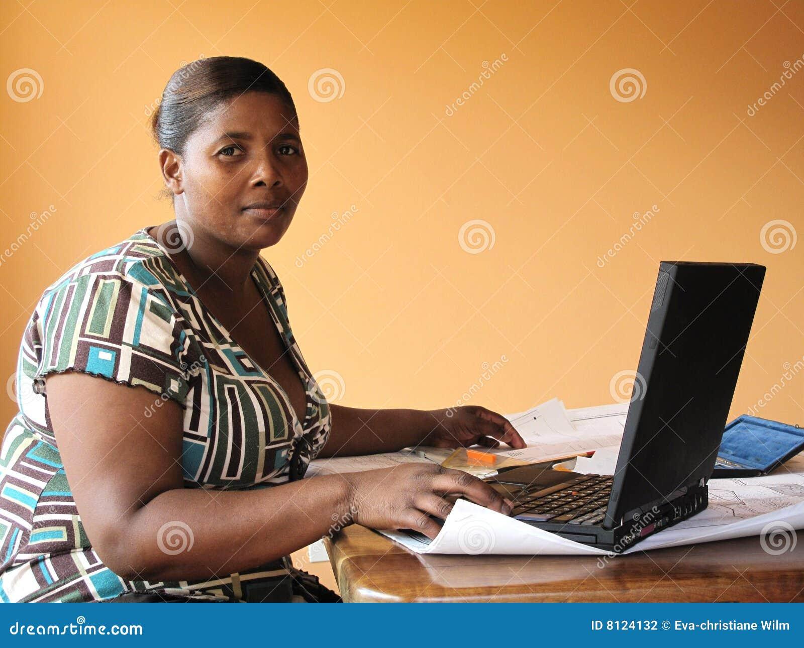 деятельность женщины lapt афроамериканца