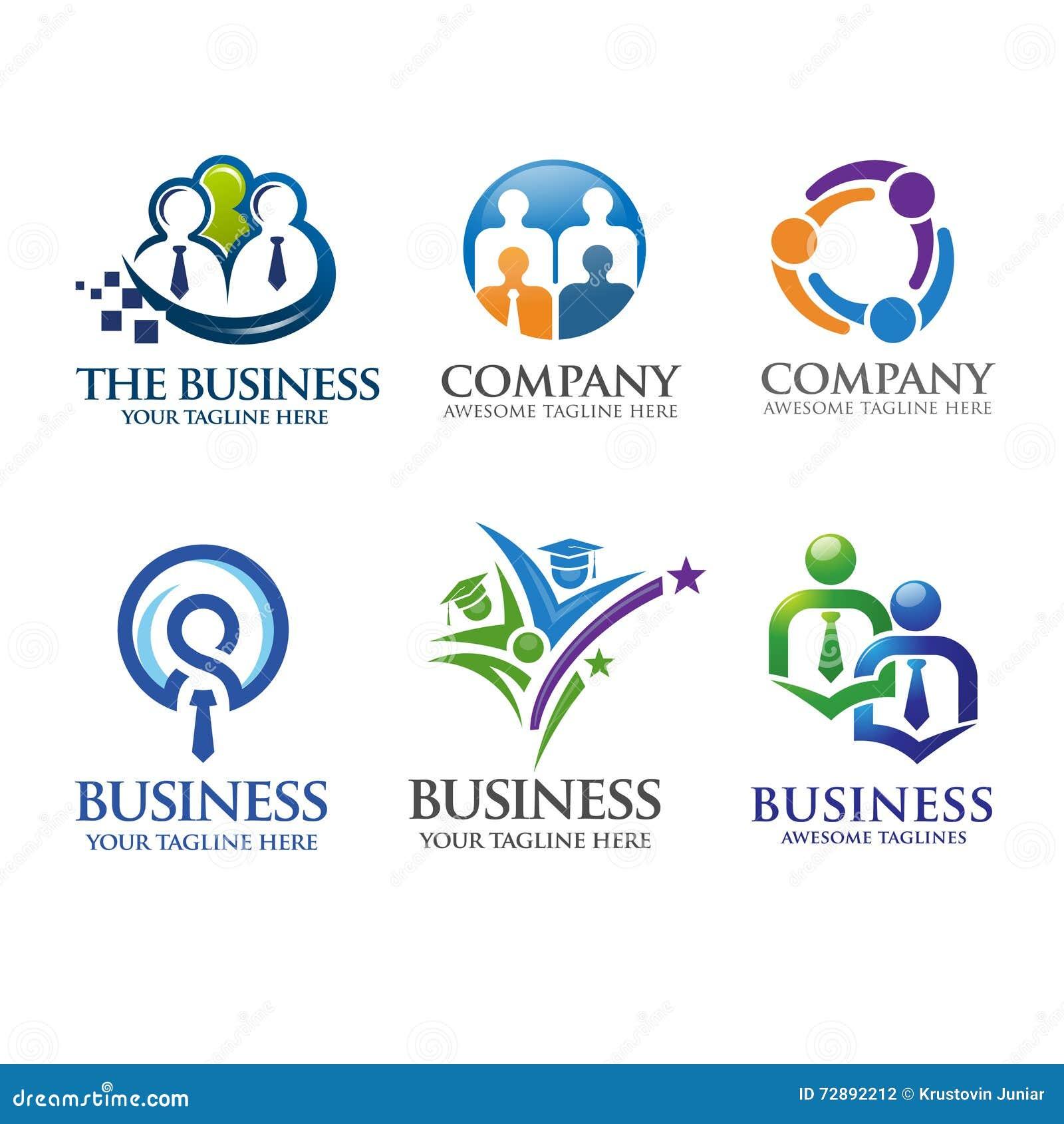 Дело людей и логотип руководства