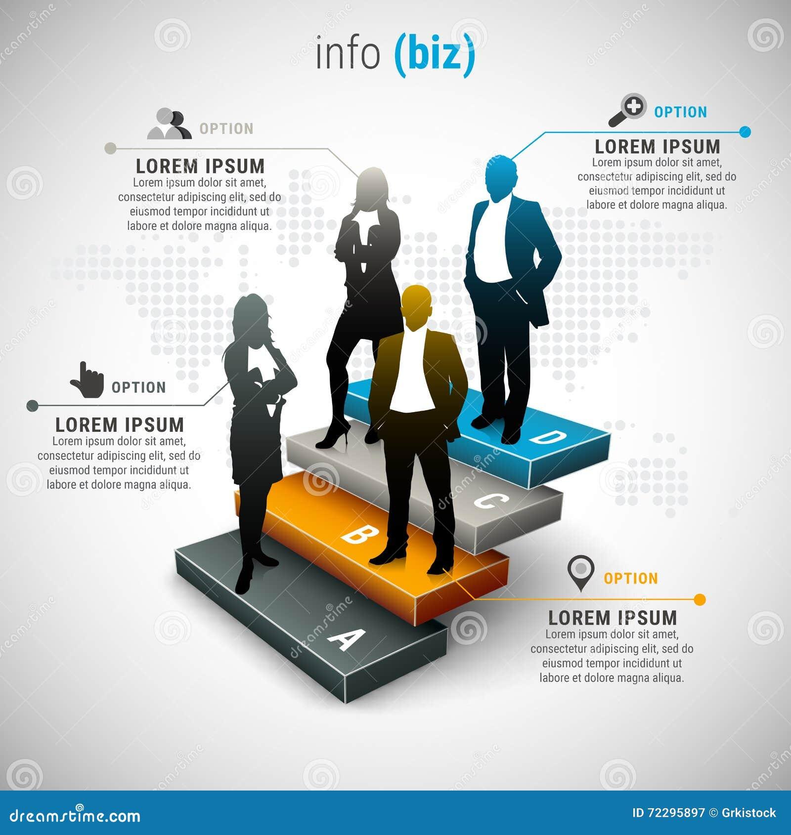 Download Дело Infographic иллюстрация вектора. иллюстрации насчитывающей info - 72295897