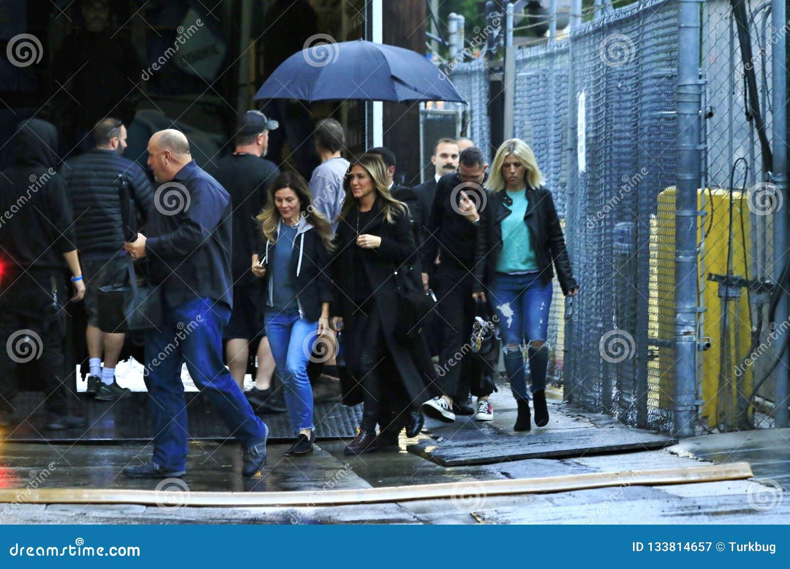 Дженнифер Aniston в Голливуд