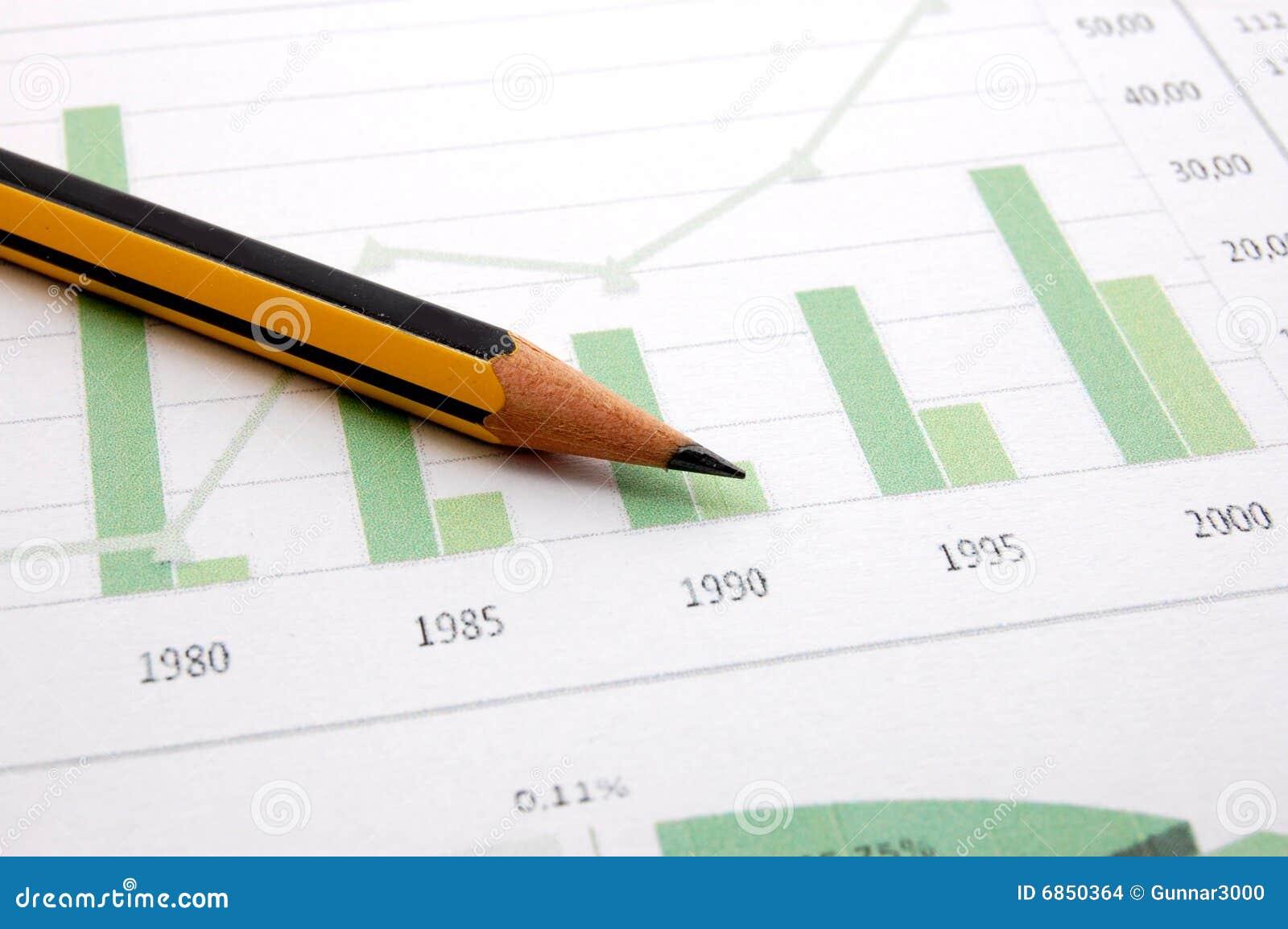диаграмма дела показывая успех