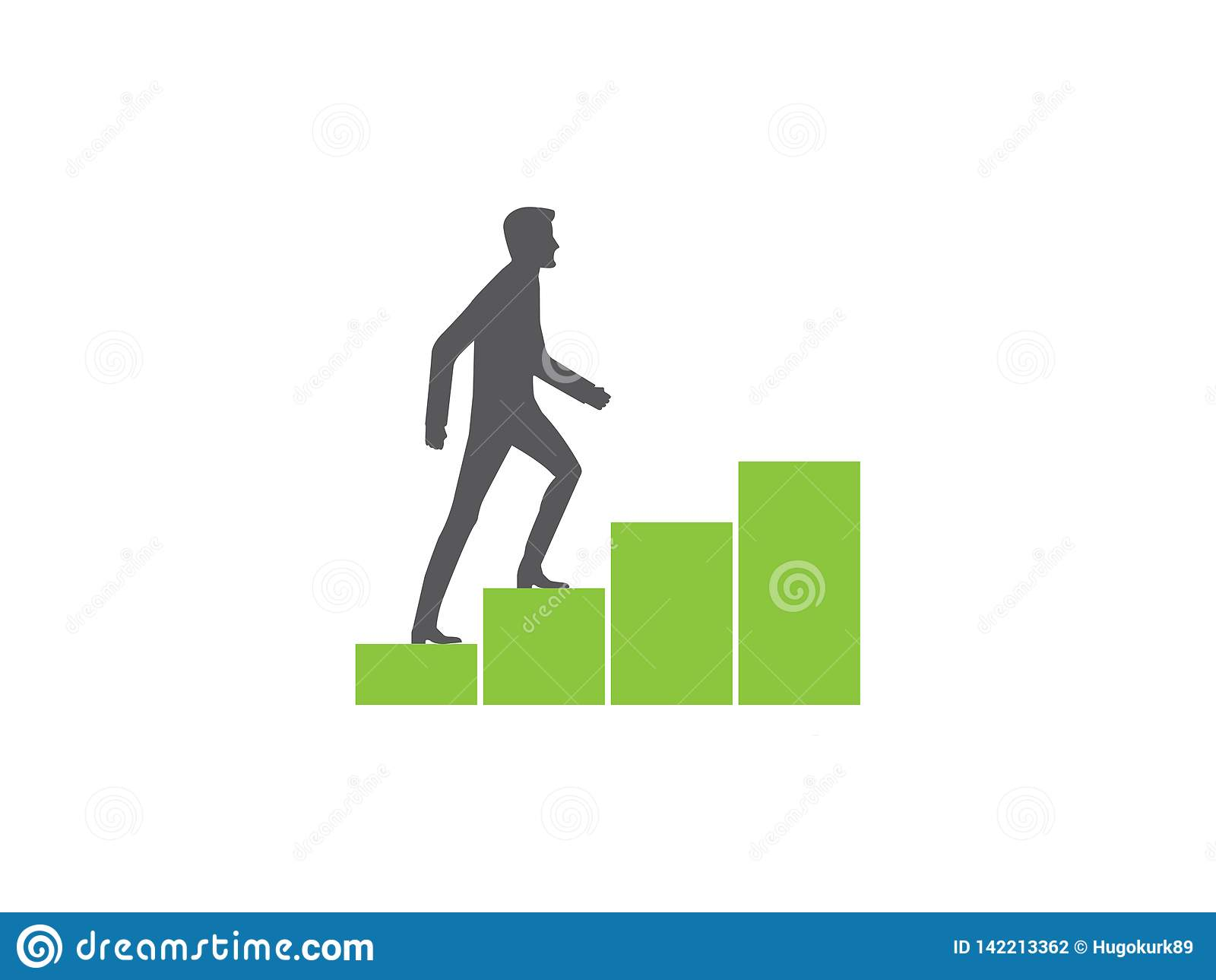 Диаграмма climbin человека растя
