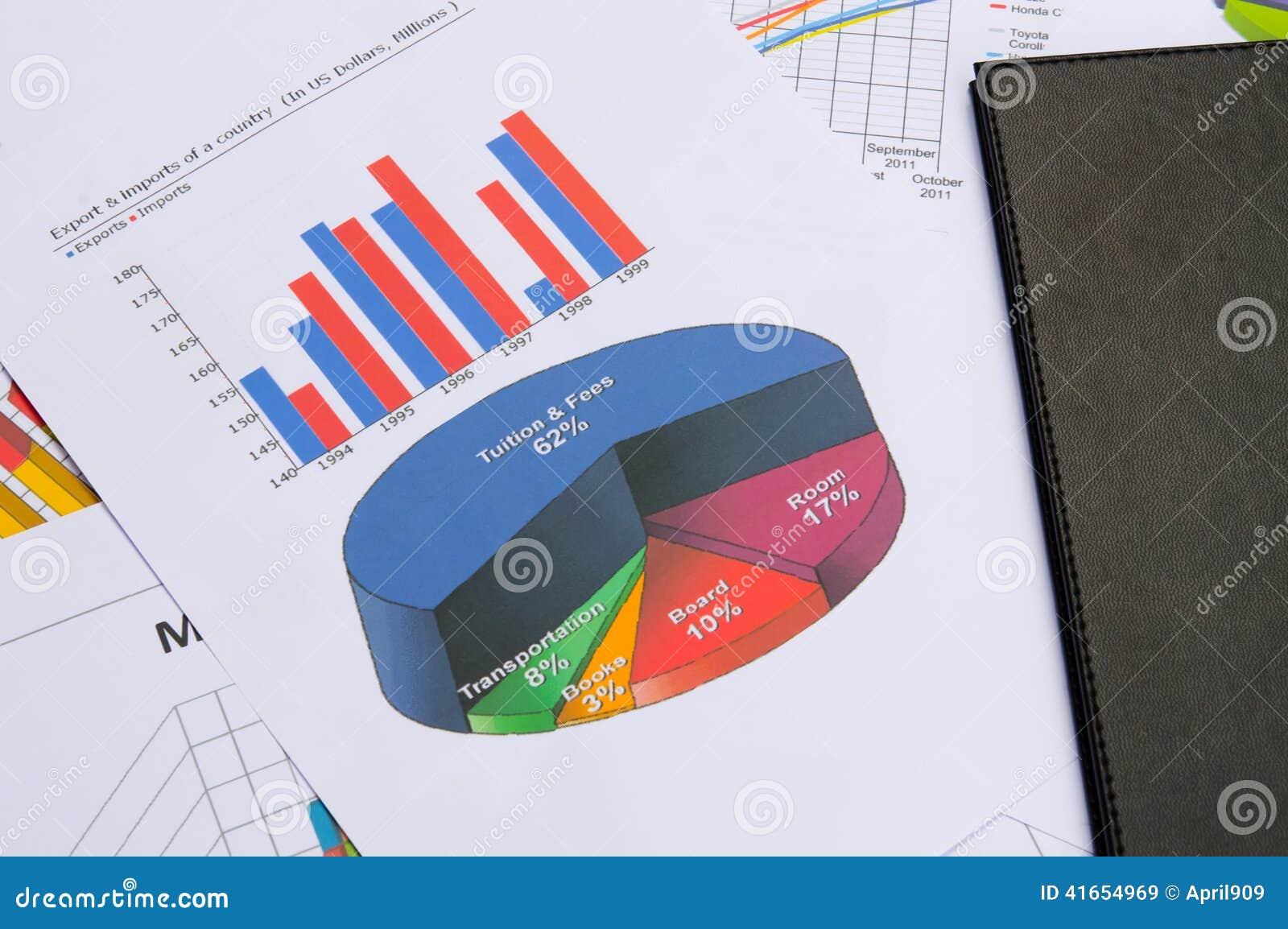 Диаграммы и диаграммы дела с книгой