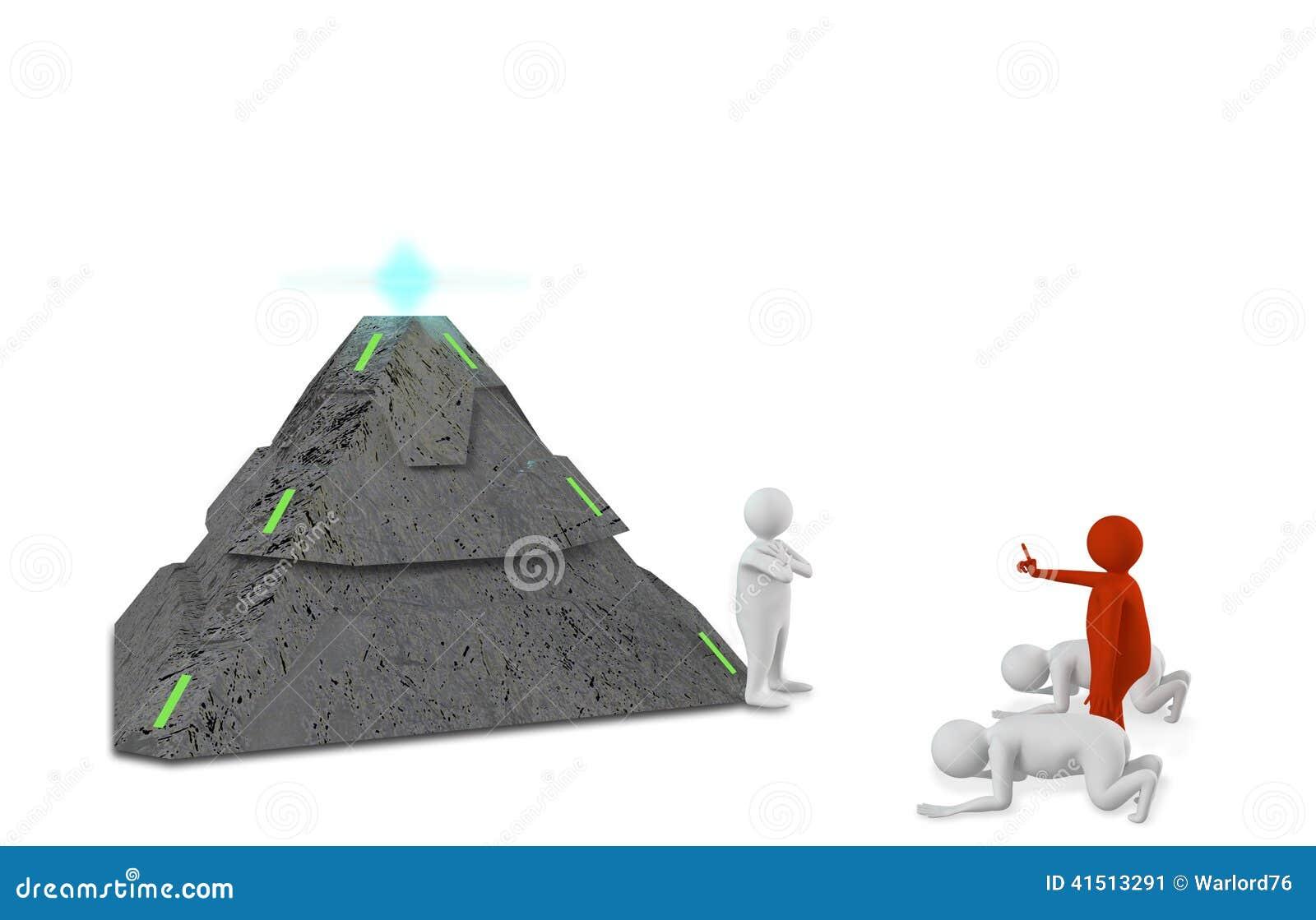 Диаграммы с пирамидой