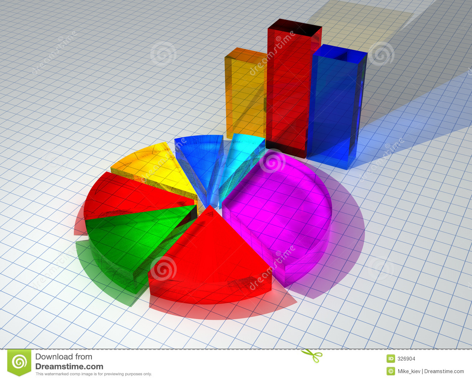 диаграммы 3d