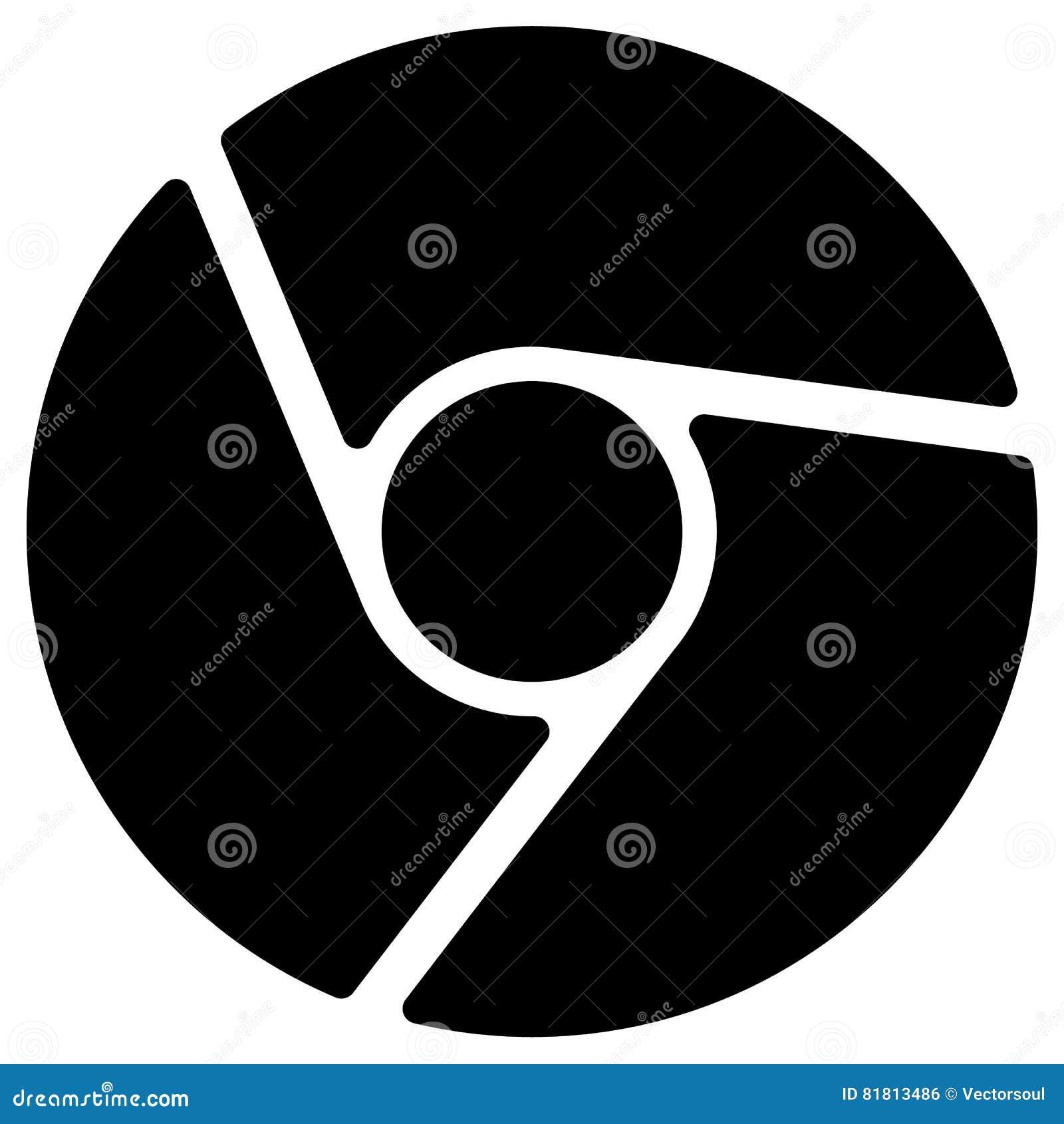 Диафрагма любит круговой символ для фотографии, технологии, гена