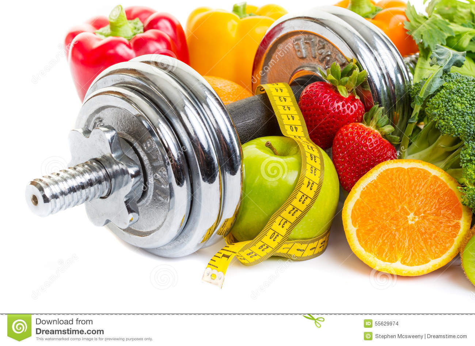 Концепция диета спорт — стоковое фото © janpietruszka #160081278.