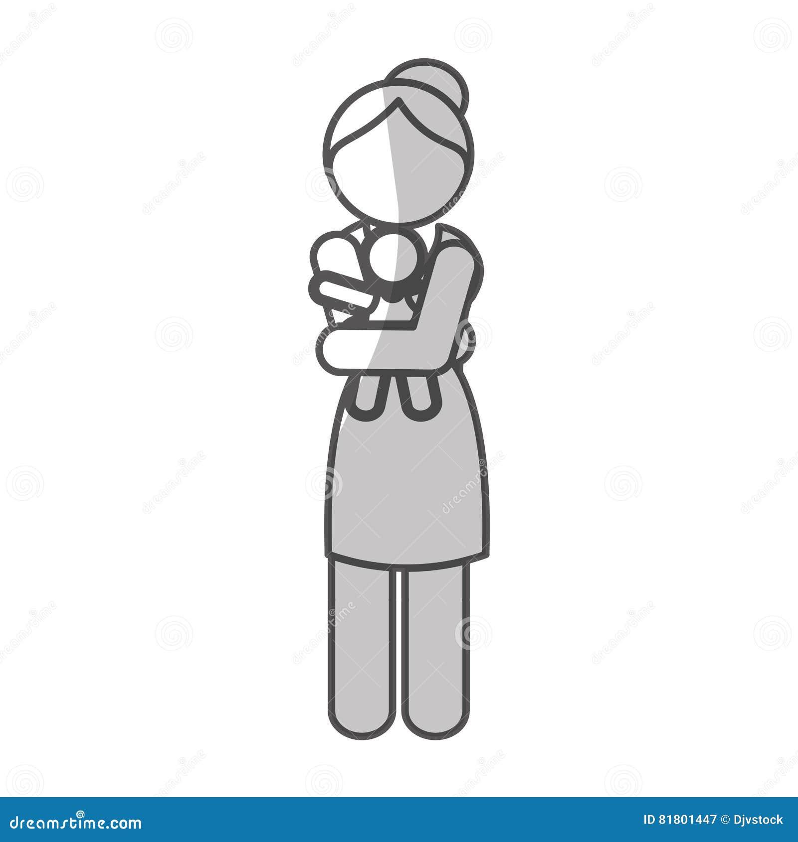 Дизайн значка женщины