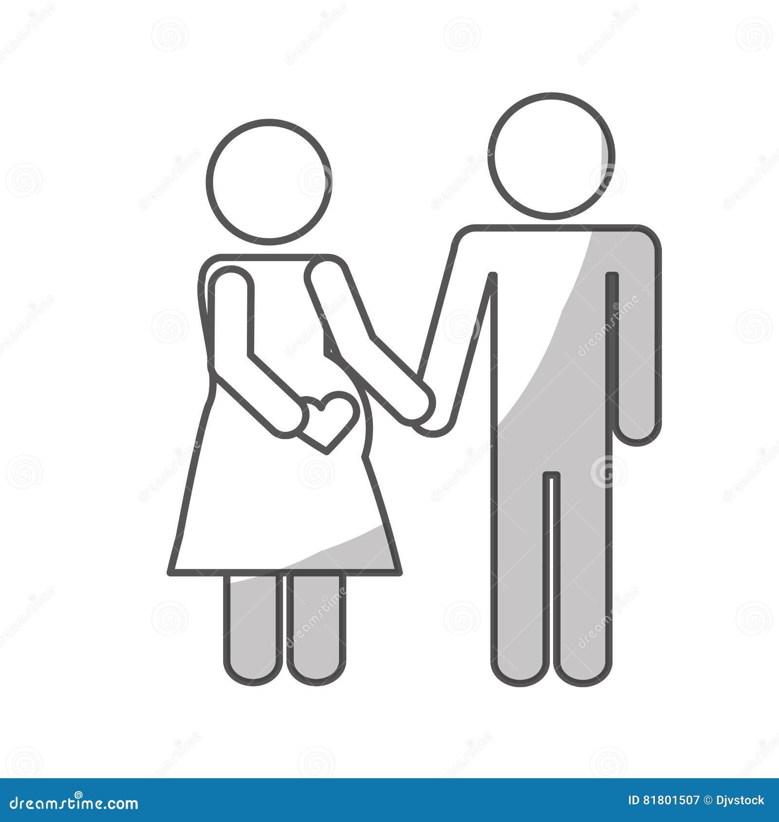 Дизайн значка пар