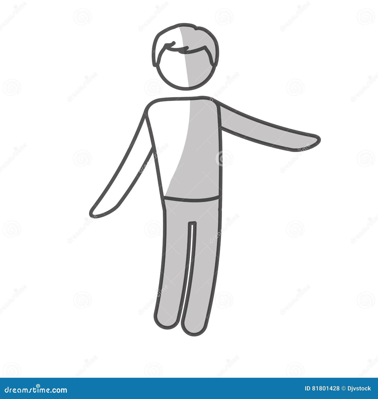 Дизайн значка человека