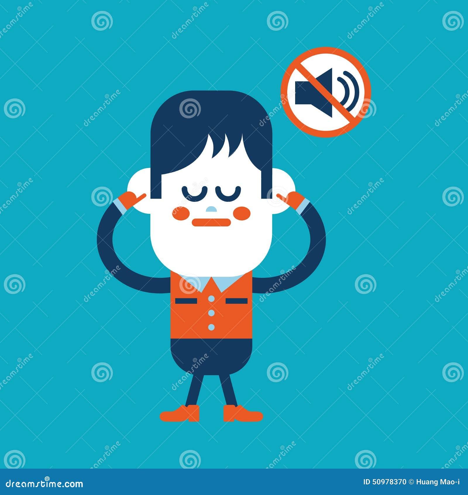 Дизайн иллюстрации характера Мальчик был запрещен для того чтобы поговорить carto