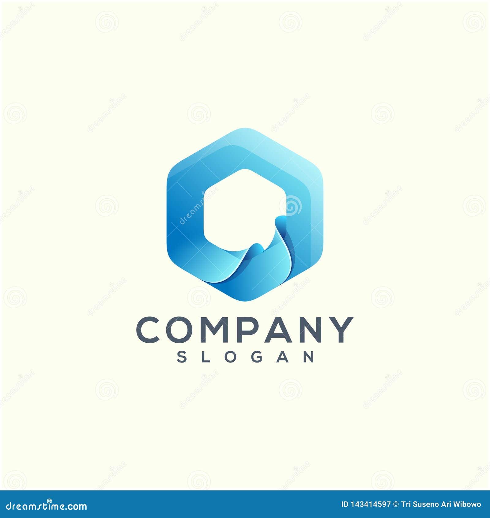 Дизайн логотипа волны готовый для использования для вашей компании