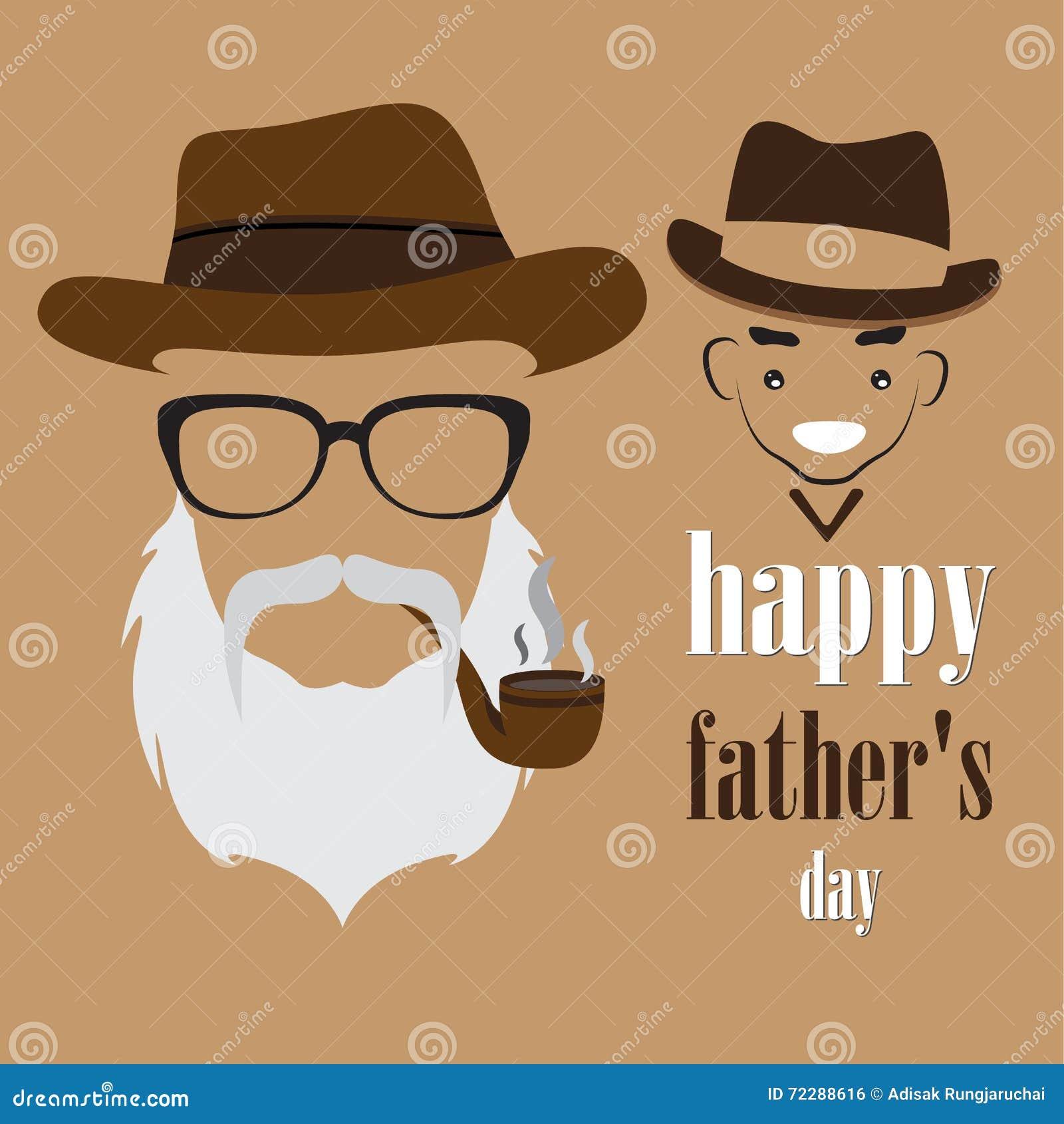 Download Дизайн дня отцов иллюстрация вектора. иллюстрации насчитывающей папа - 72288616