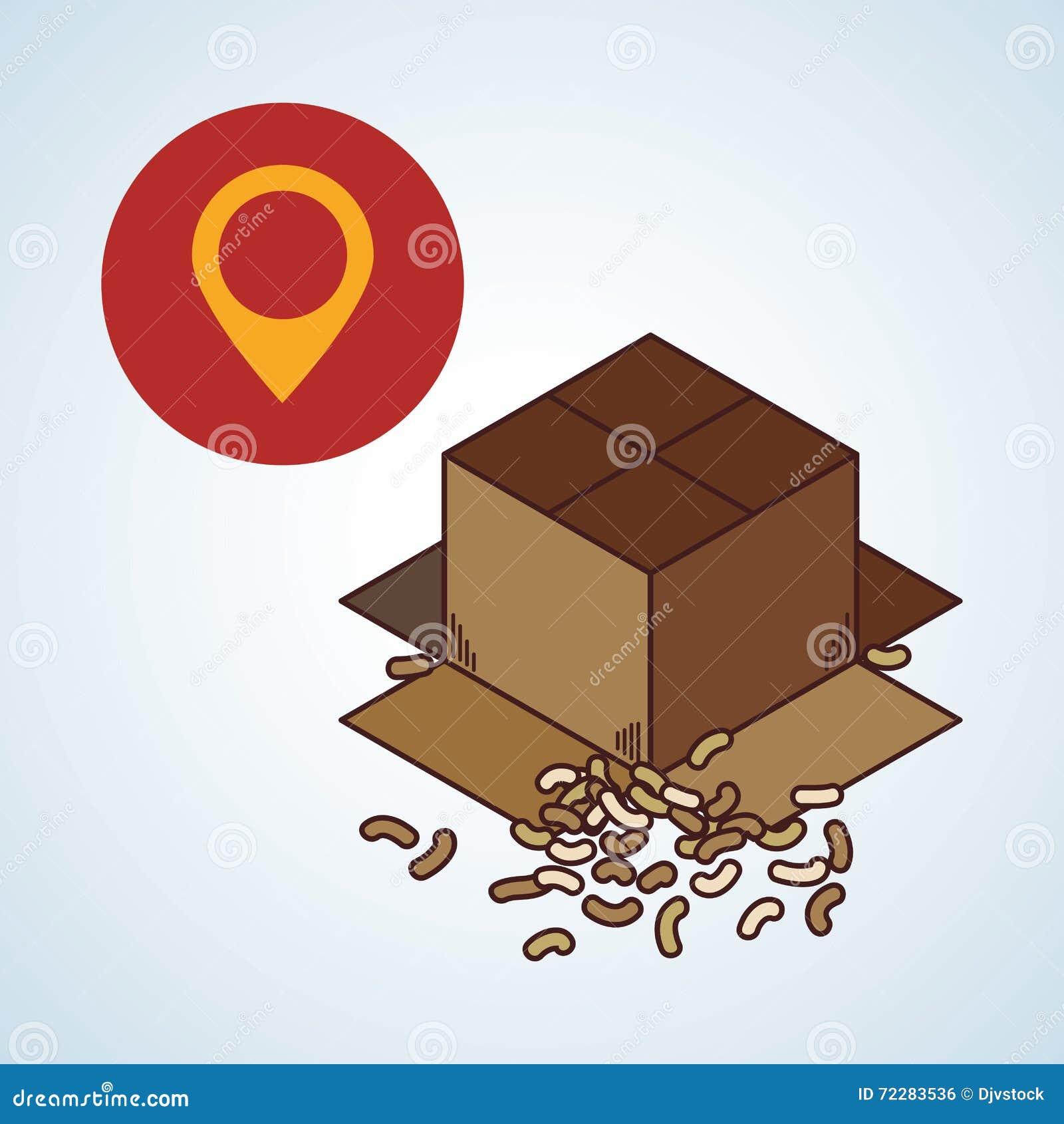 Download Дизайн поставки Значок доставки Белая предпосылка, вектор Иллюстрация вектора - иллюстрации насчитывающей товар, снабжение: 72283536