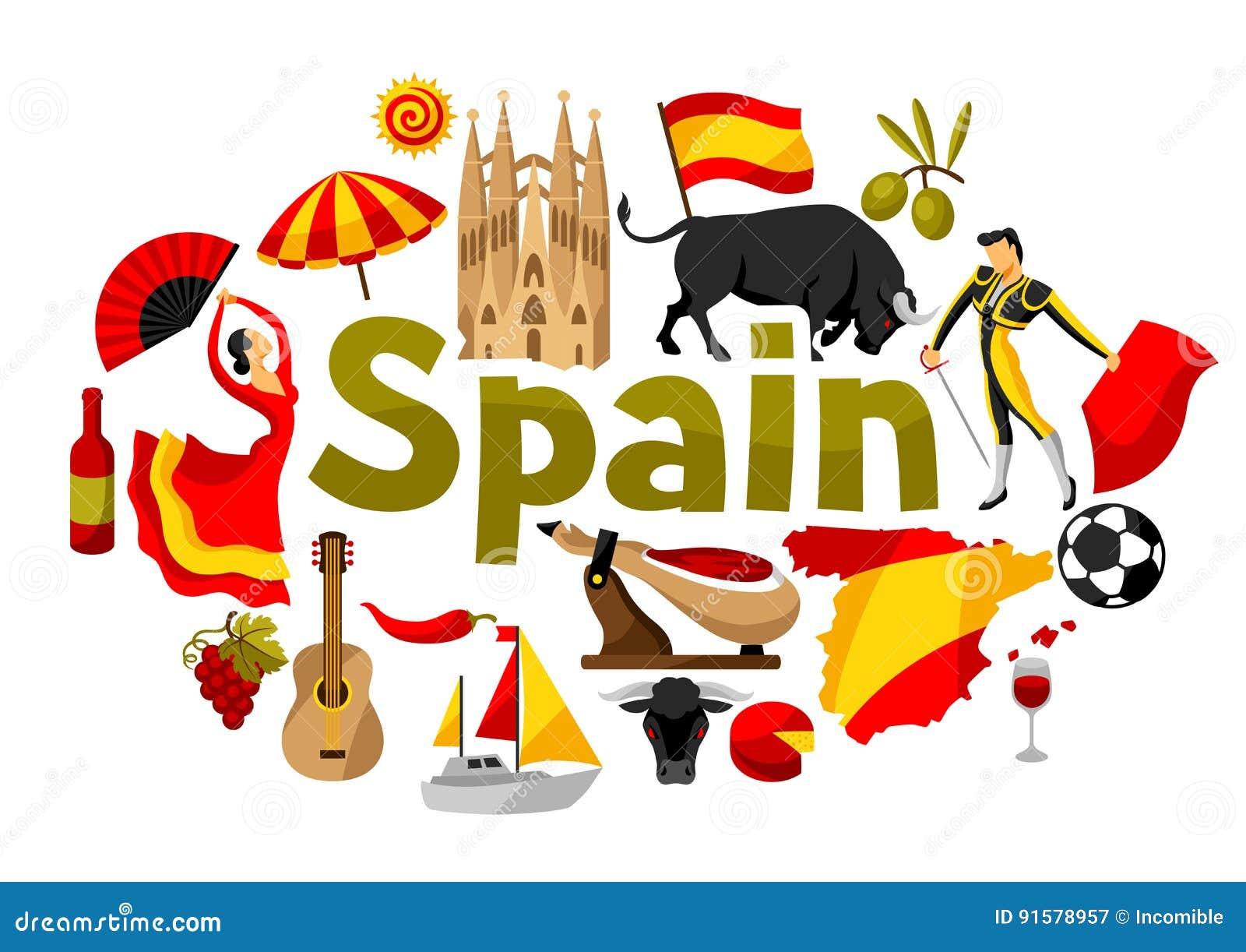 детям об испании в картинках