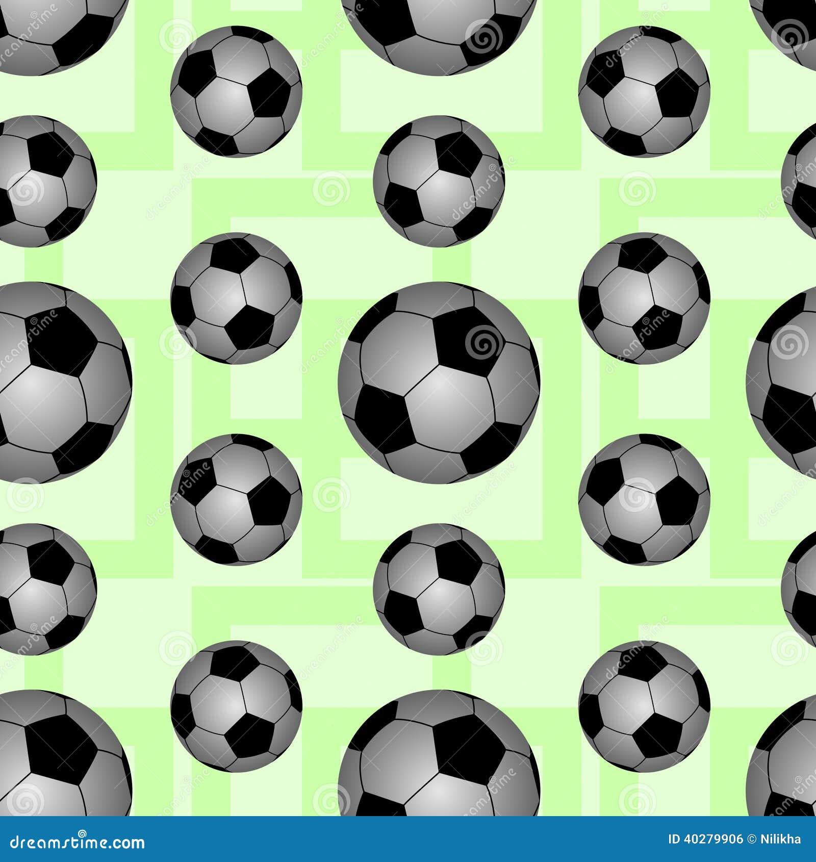 Дизайн предпосылки футбольного мяча безшовный