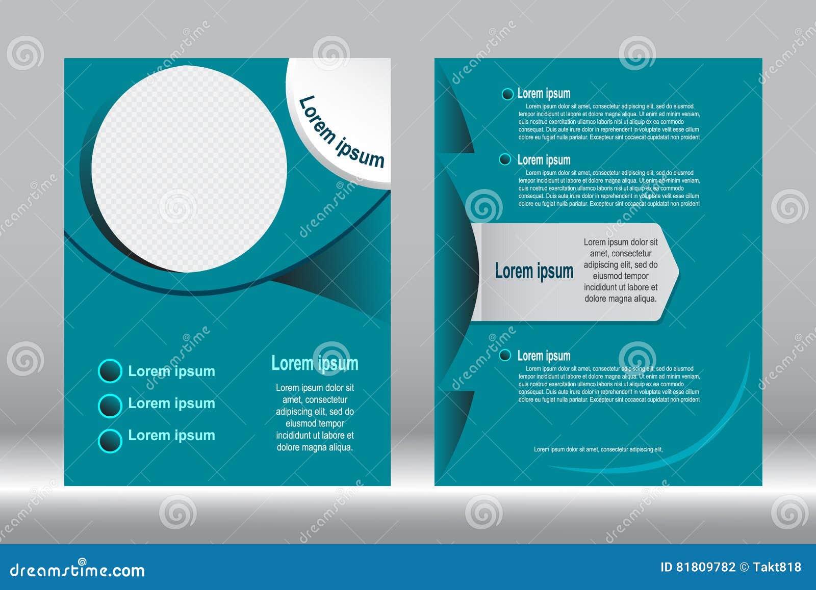 Дизайн рогульки, предпосылка шаблона брошюры