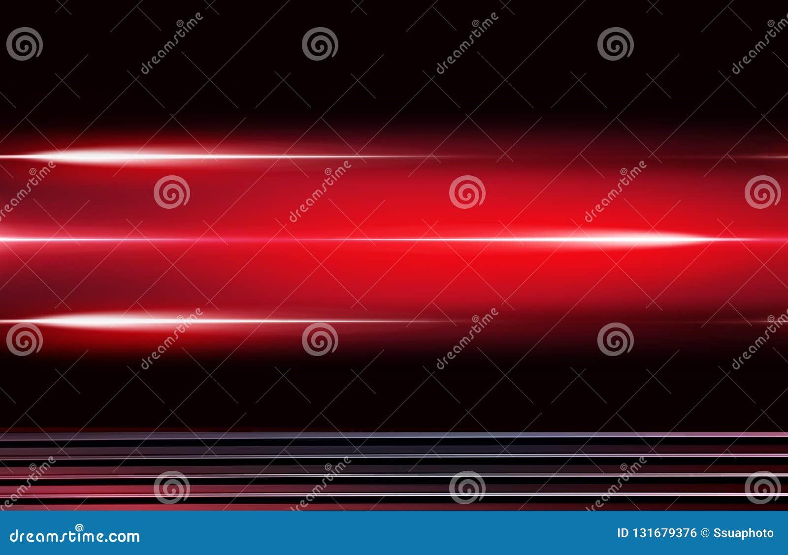 Дизайн с красными неоновыми элементами