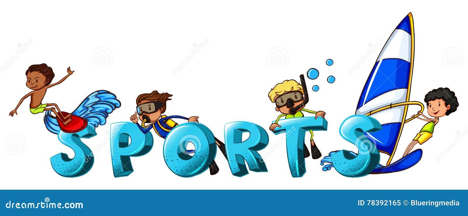 Картинка спортсмен надпись