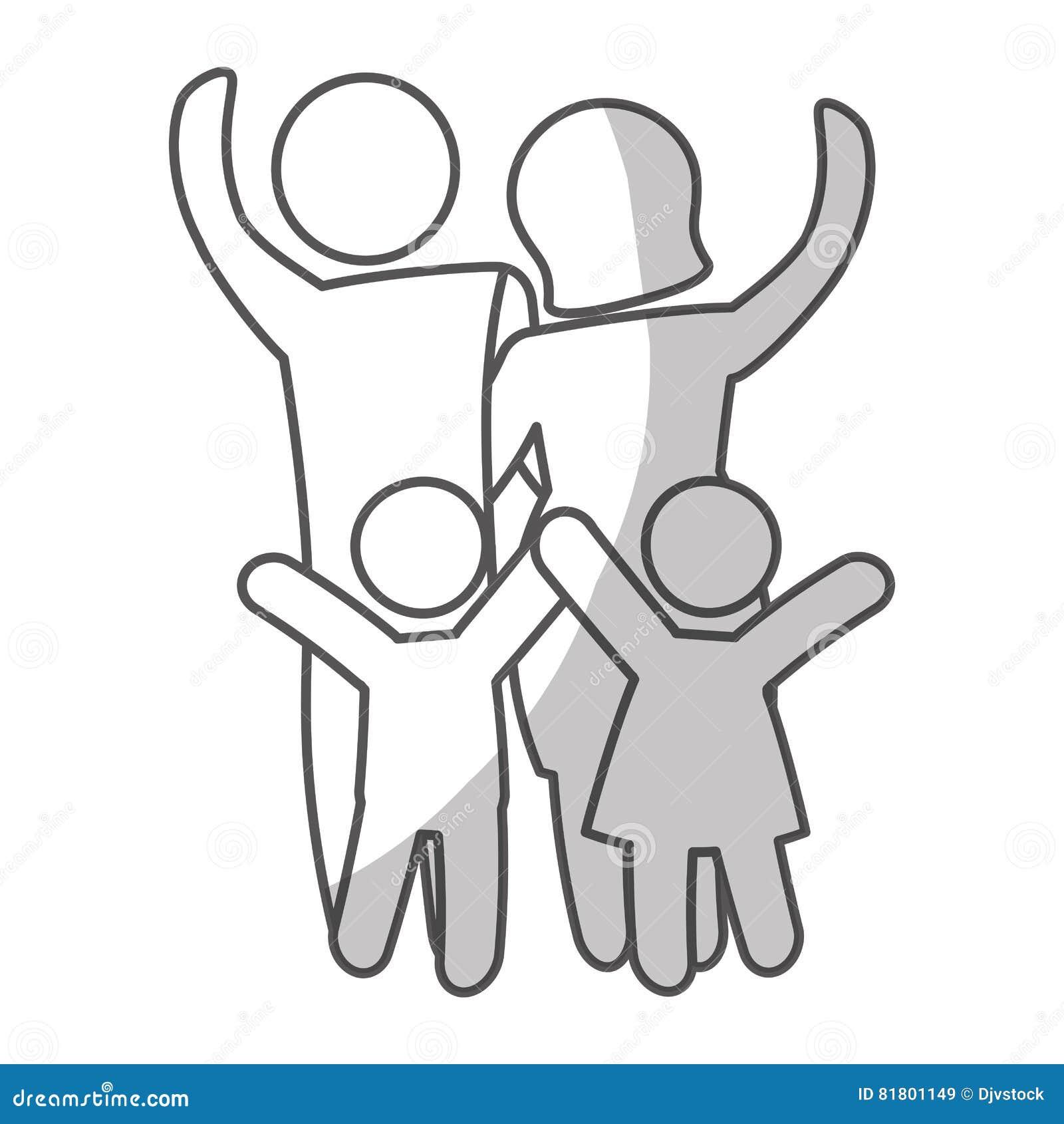 Дизайн членов семьи