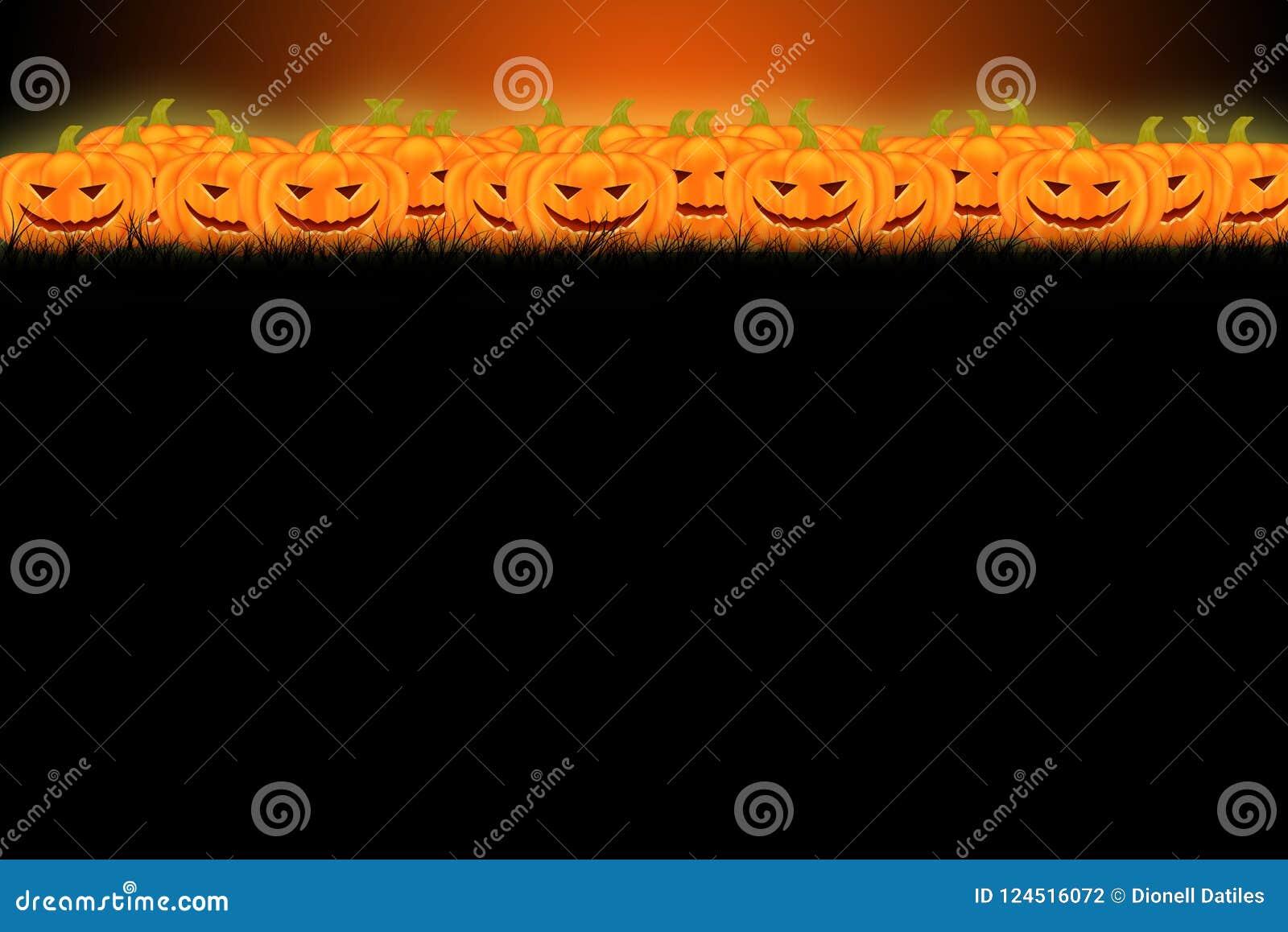 Дизайн шаблона хеллоуина с космосом для текста или сообщения