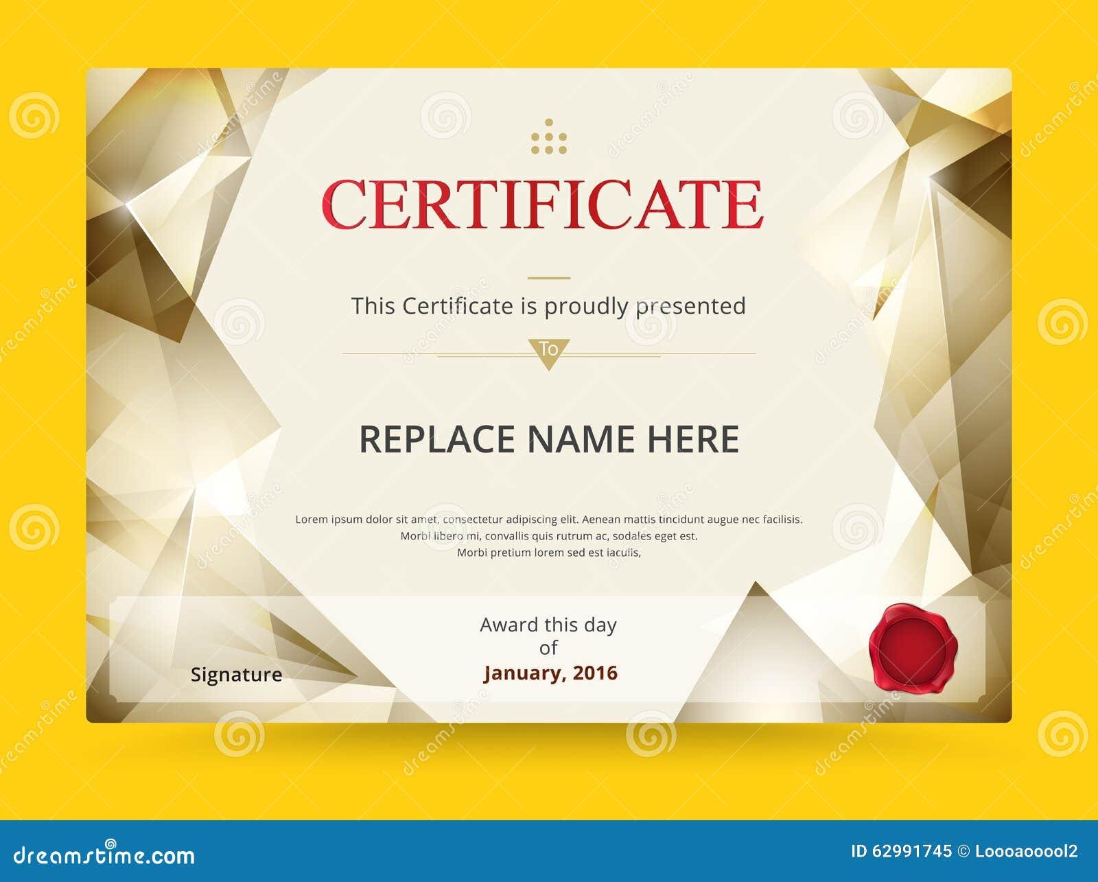 Diploma Certificates Templates