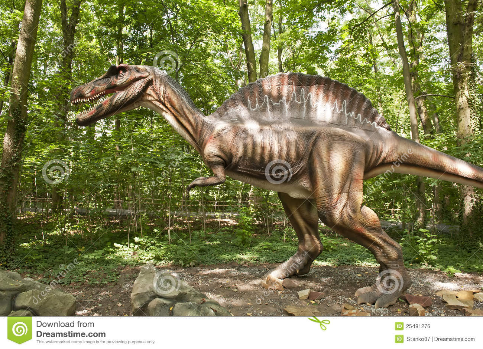 динозавр огромный