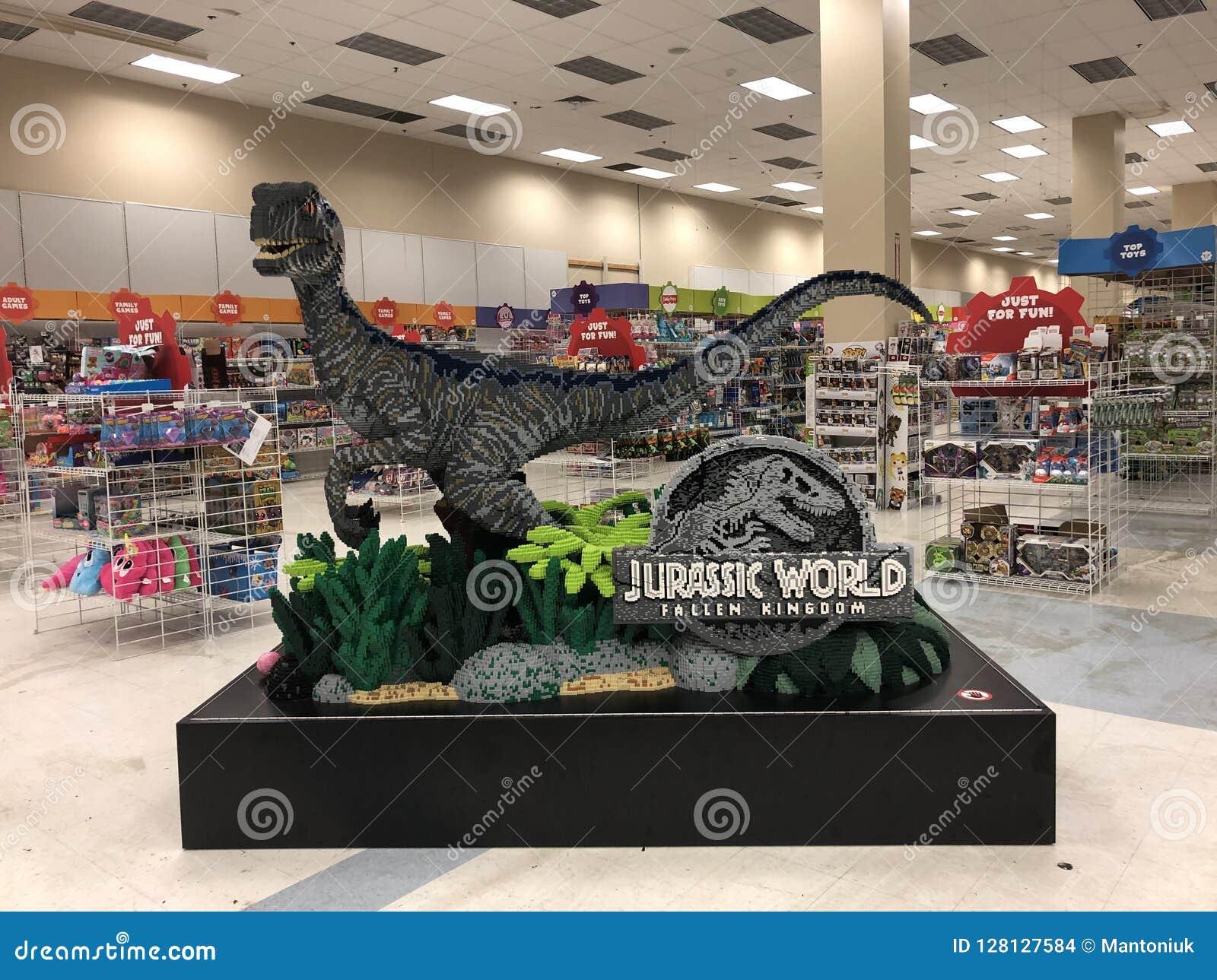 Динозавр строительных блоков LEGO