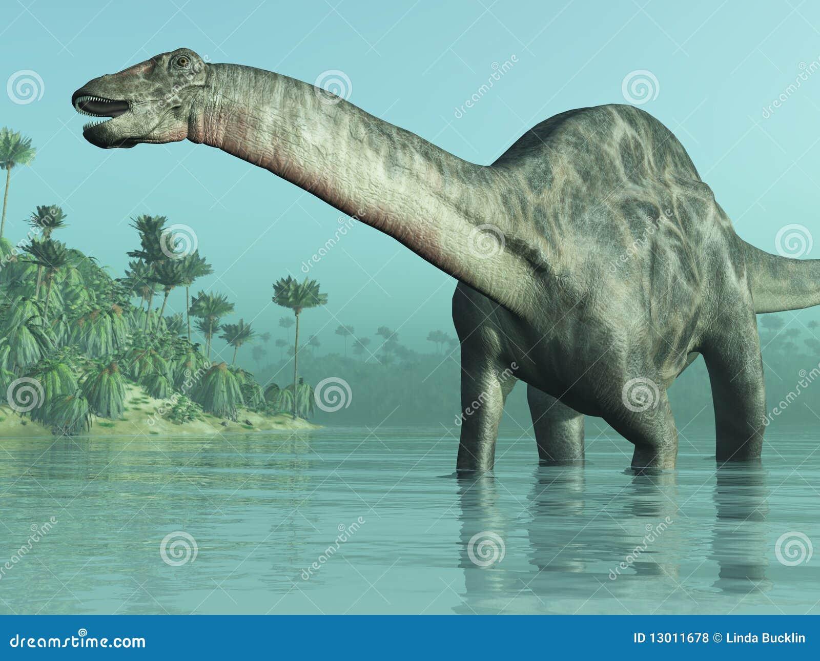 динозавр dicraeosaurus